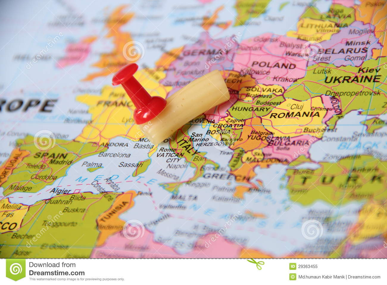 Pasta pin point on italy stock image image of locations 29363455 pasta pin point on italy gumiabroncs Image collections