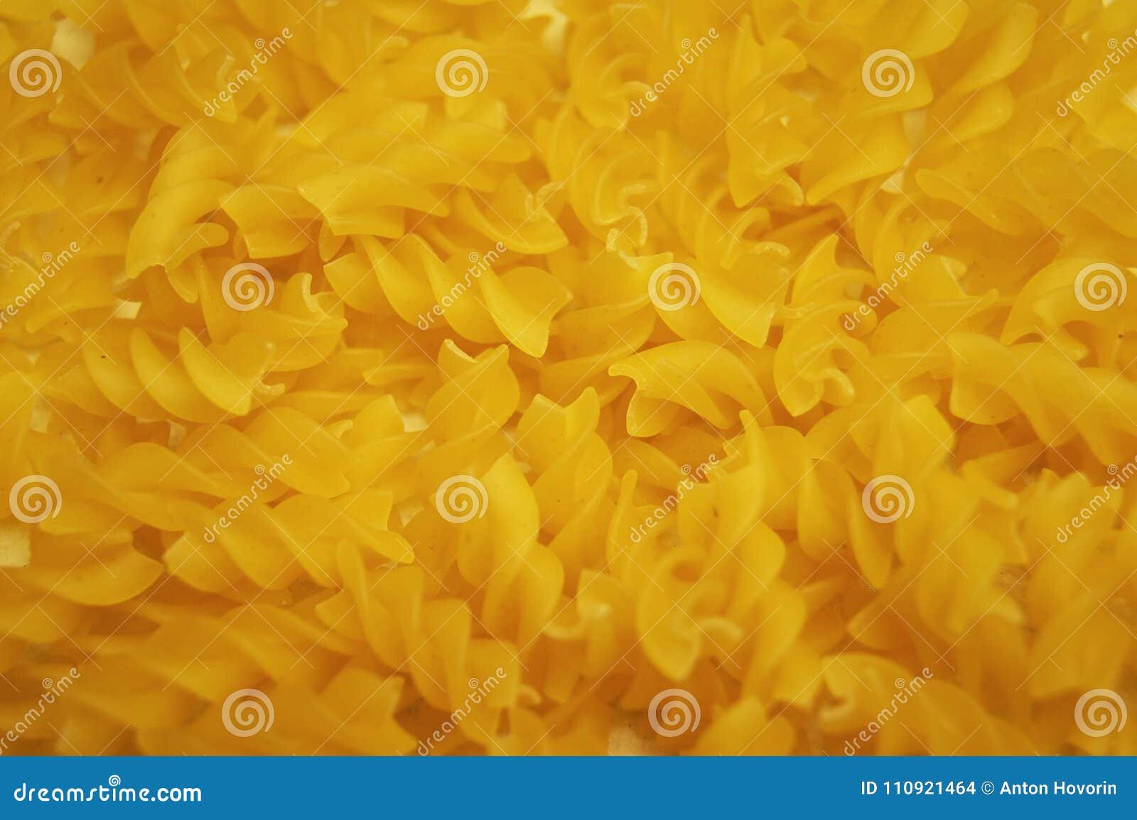 Pasta spirals background