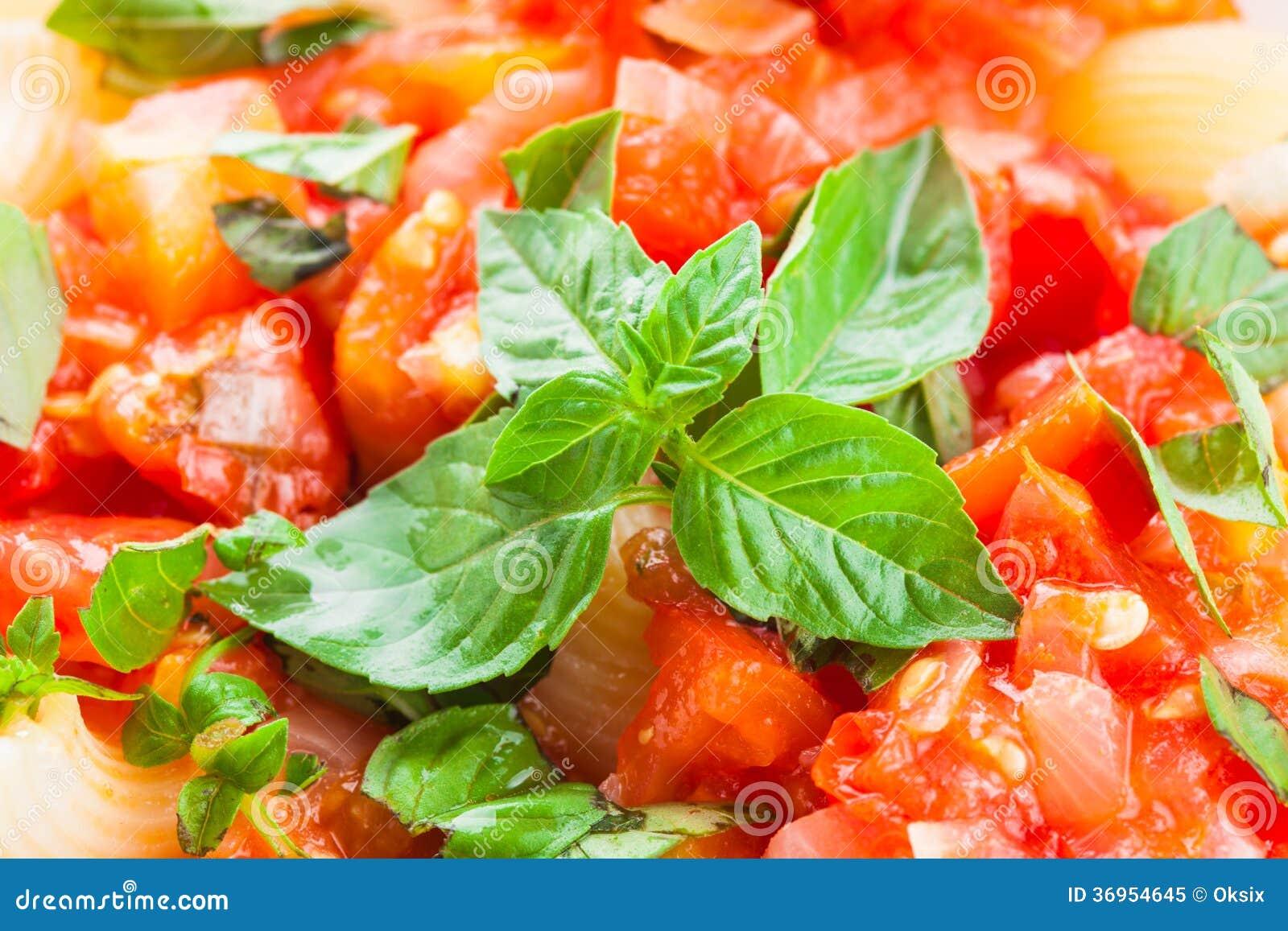 Fresh Pasta + Basic Tomato Sauce Recipe — Dishmaps