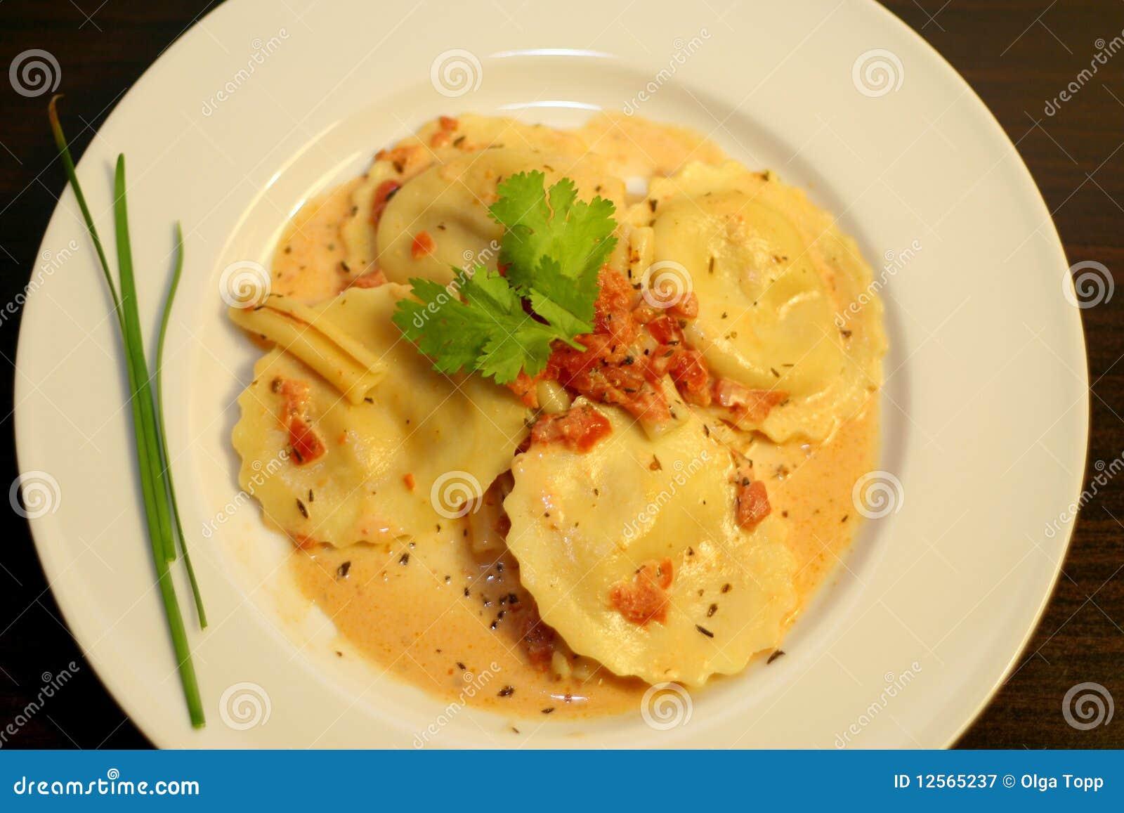 Pastas italianas gastrónomas