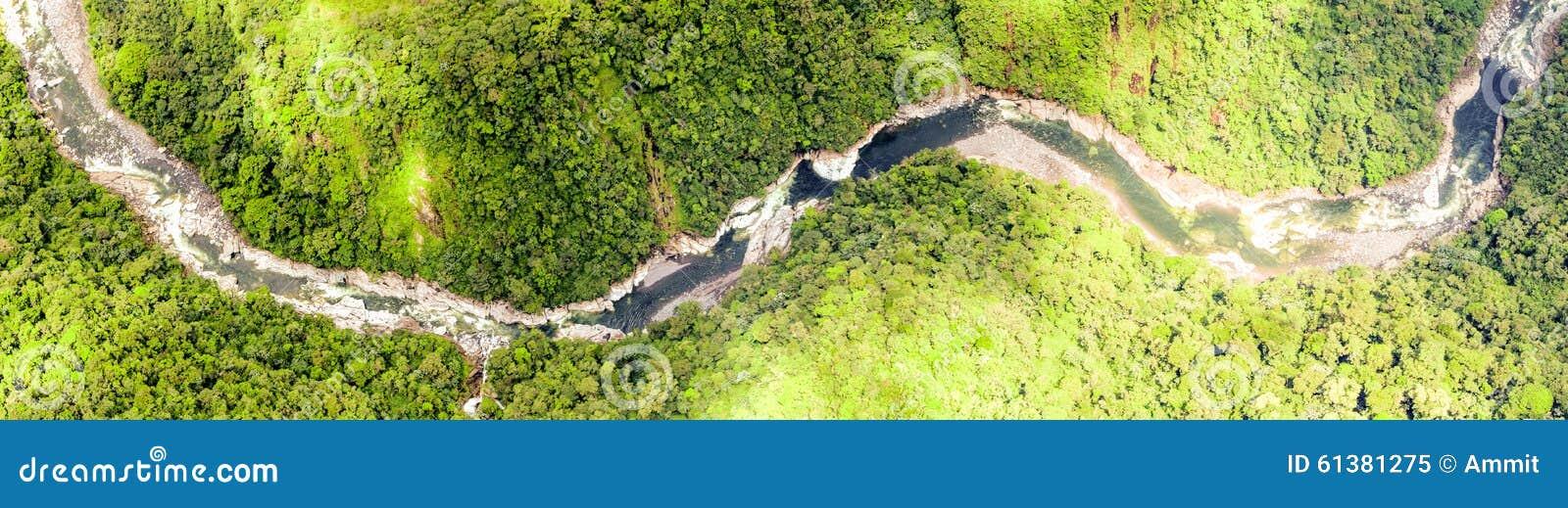 Pastaza flod Ecuador