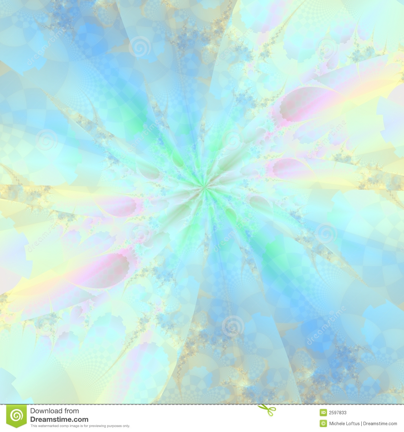 Pastel Abstract Background Stock Illustration