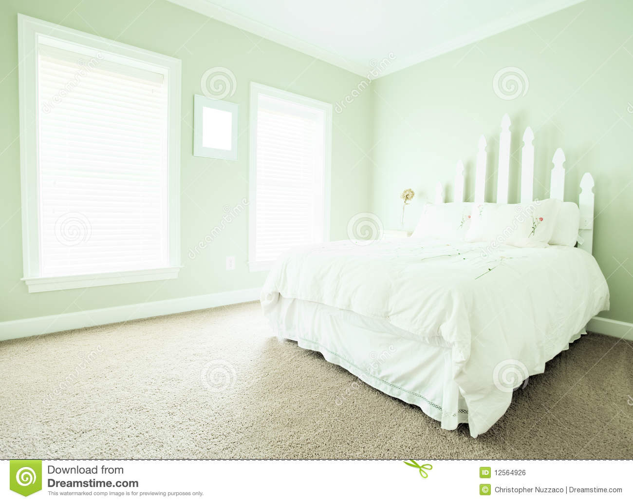 pastel paint colors bedrooms pastel bedroom interior stock photo image of bright 16629