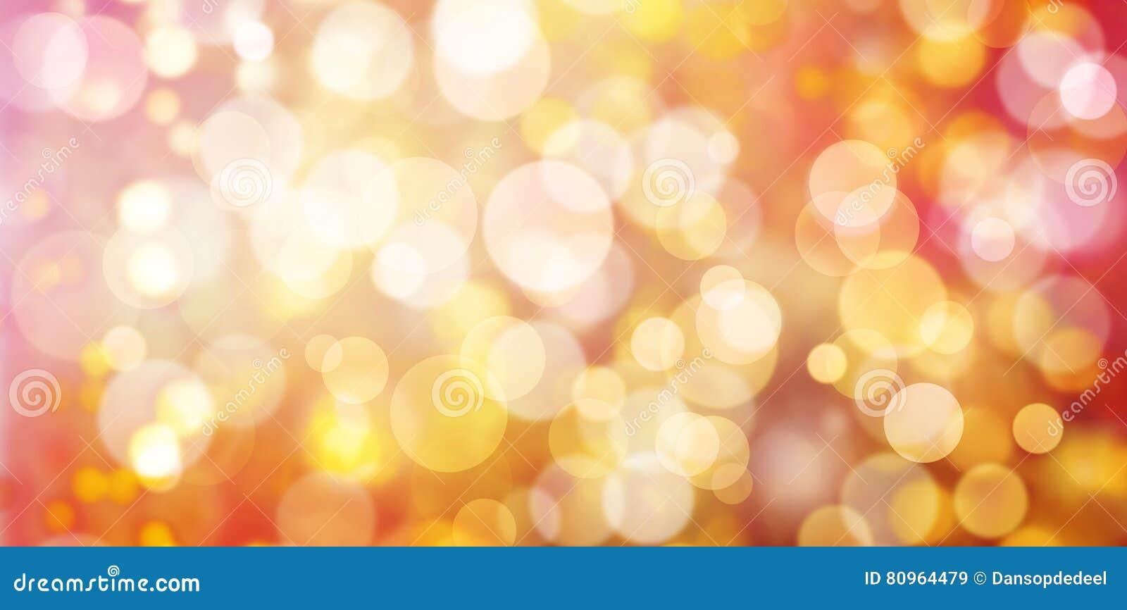 Pastel Bokeh Christmas Lights Stock Illustration - Image: 80964479