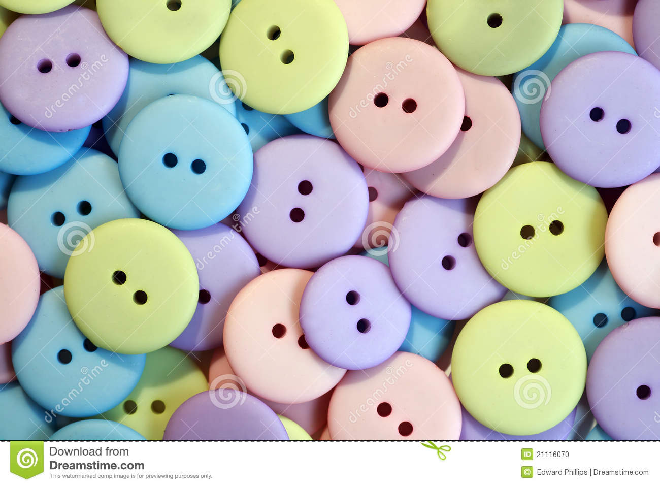 Pastel Buttons Stock Photo - Image: 21116070