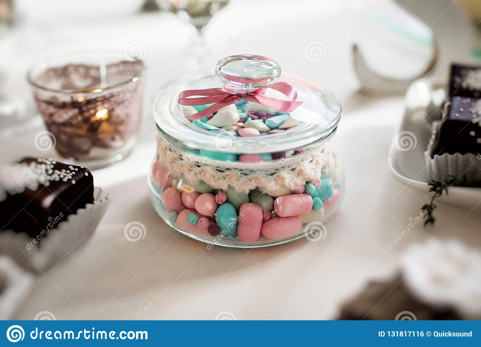 Groovy Pastel Candies In A Jar Stock Photo Image Of Candy 131817116 Complete Home Design Collection Barbaintelli Responsecom