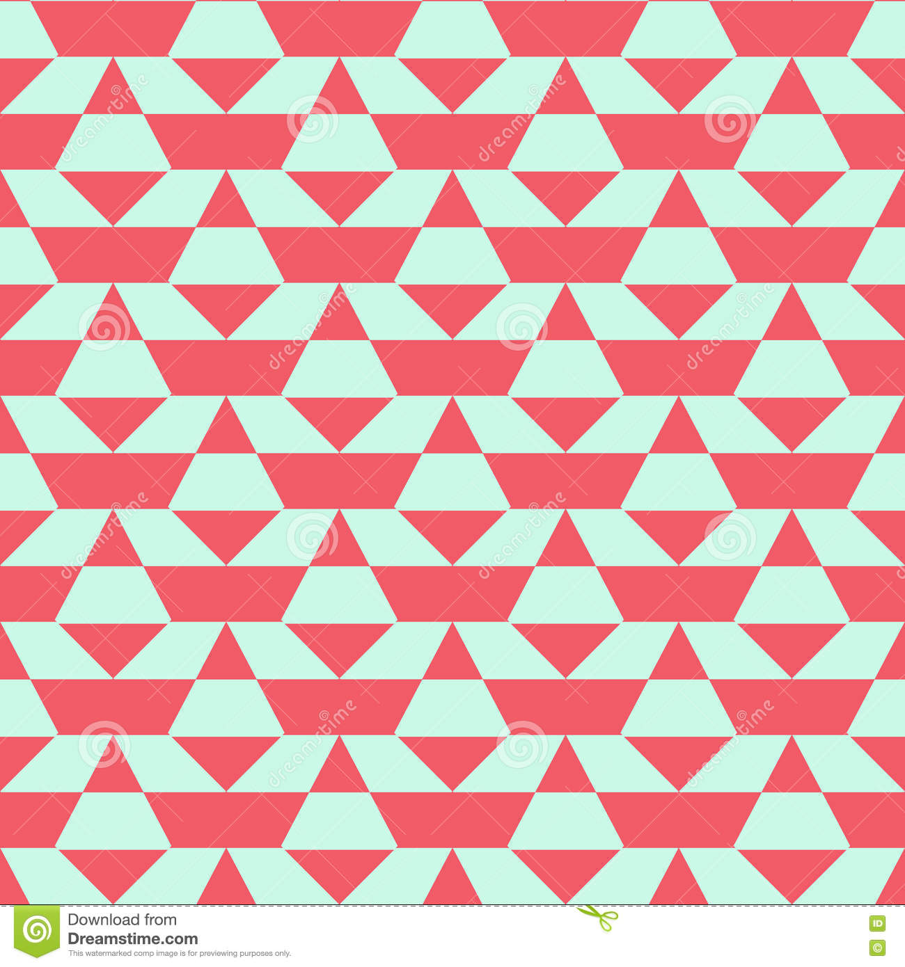 Pastel Color Blocked Pattern Stock Vector - Illustration of edgy