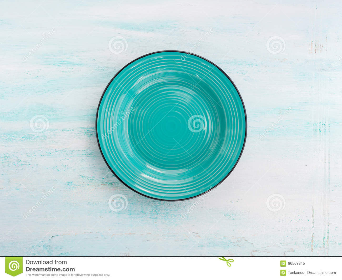 Download Pastel Color Ceramic Plate Dish Top View Background Stock Image - Image of spring, colorful: 86569845