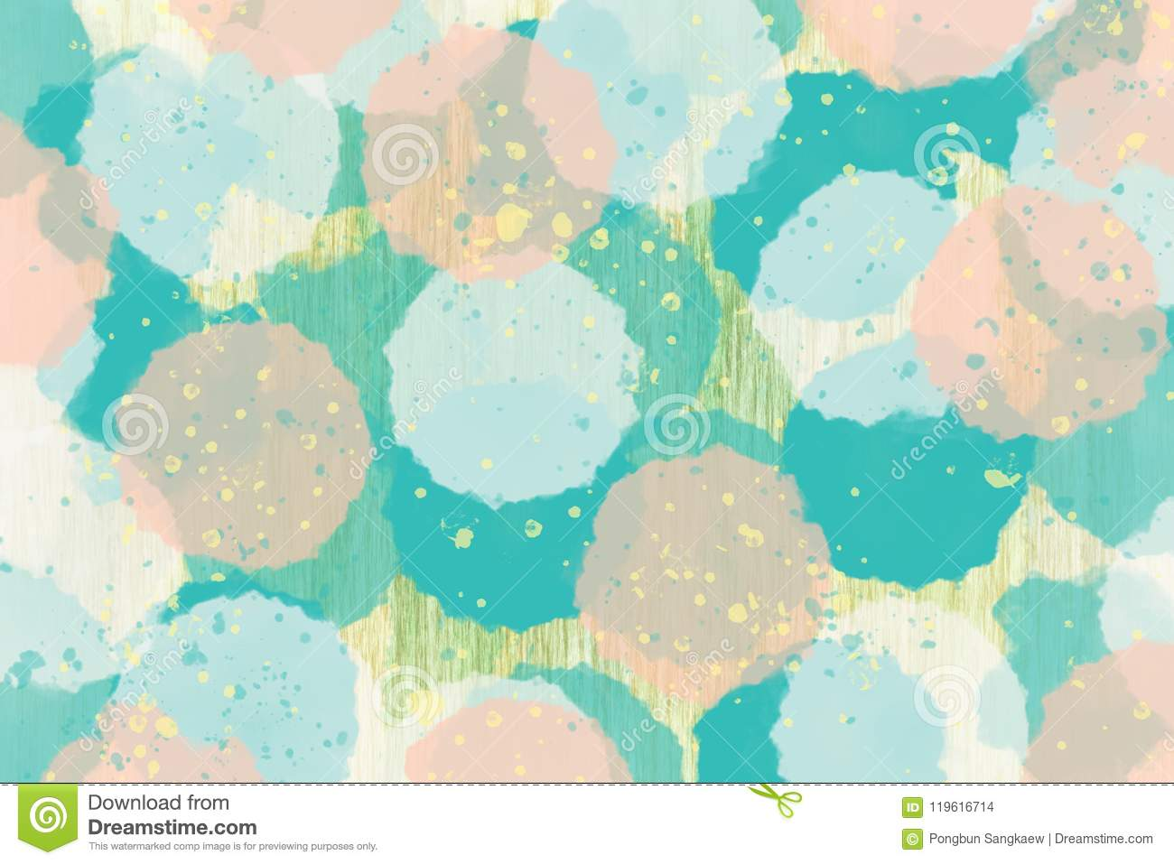 pastel color green,brown ,yellow abstract wallpaper banner