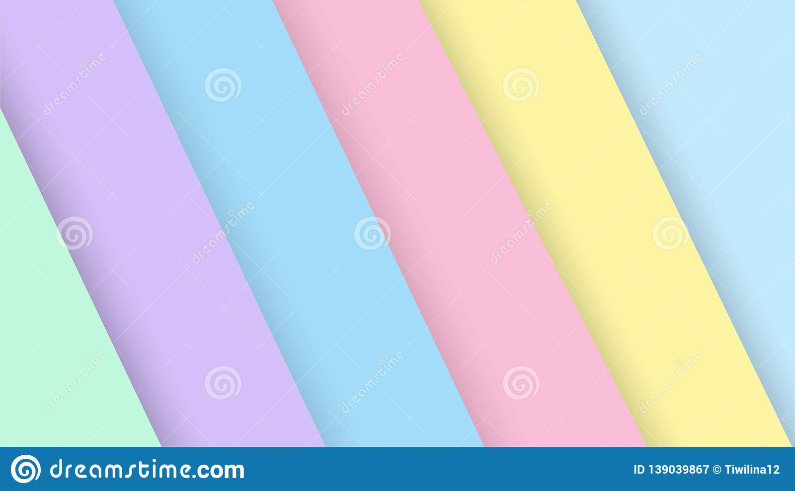 Pastel Color Palette Green Purple Blue Pink Yellow Paper ...