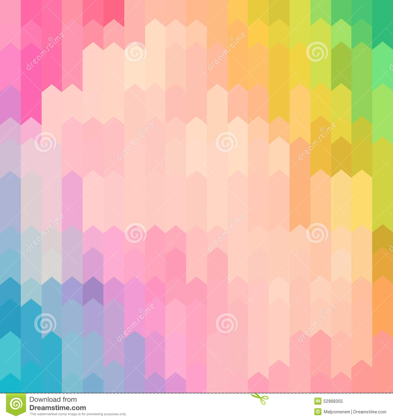 pastel colored abstract arrow pattern background multi 52968355