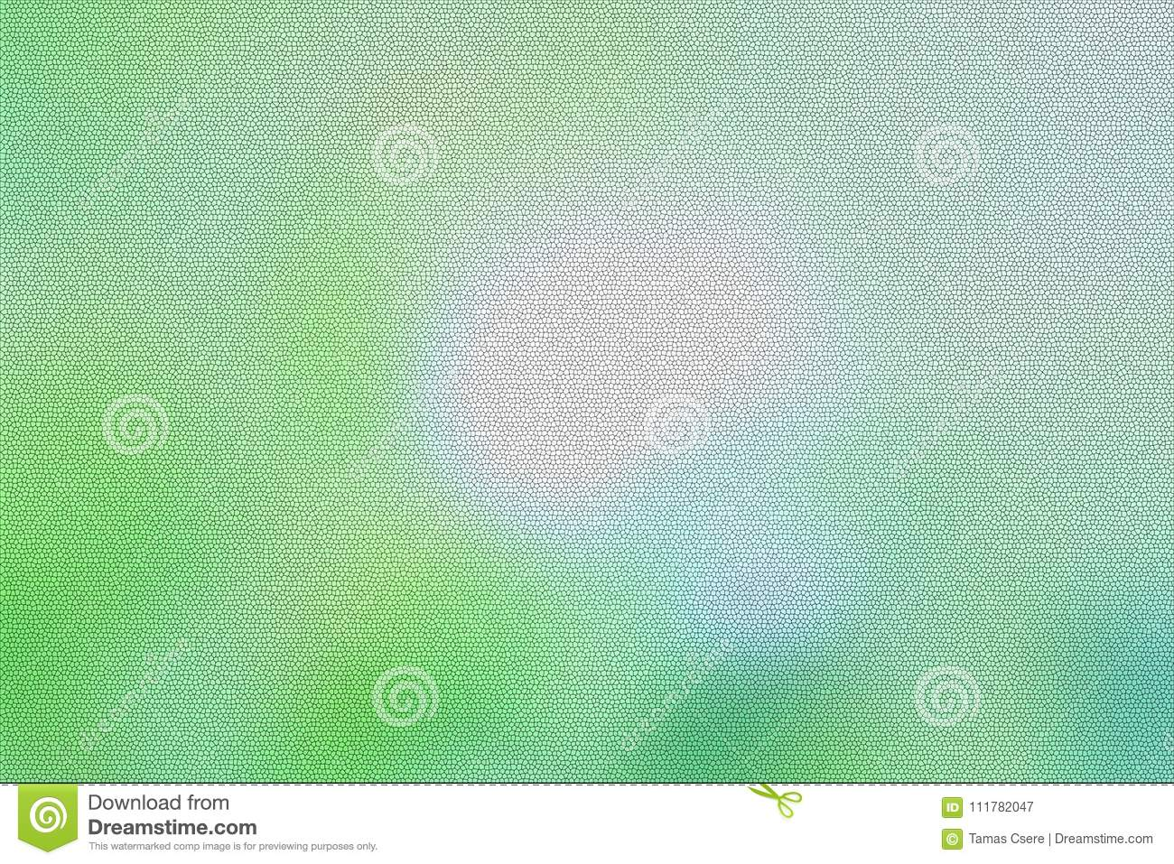 Pastel colored blur glass background