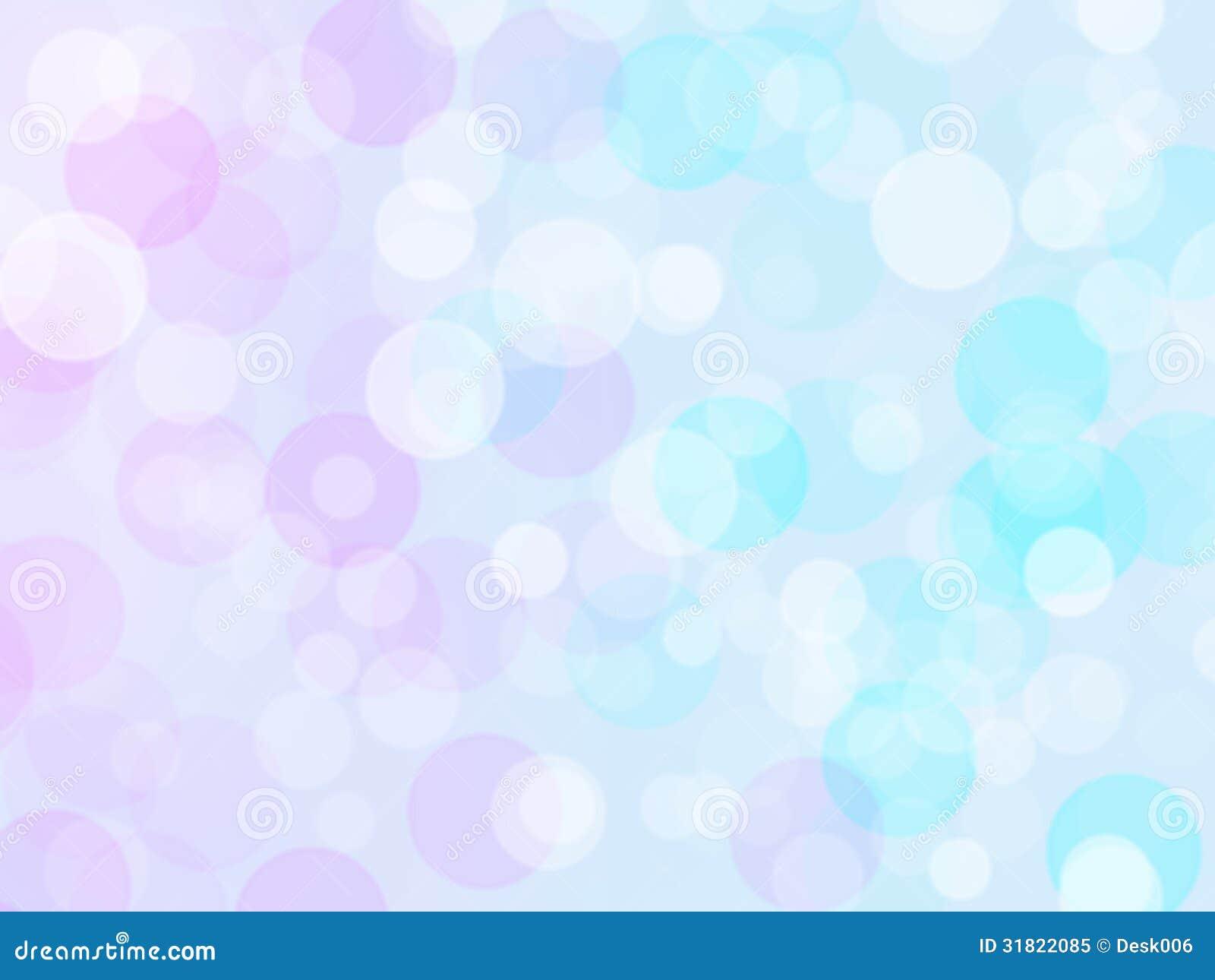Pastel Colorful Background Bokeh Blurred Stock Illustration
