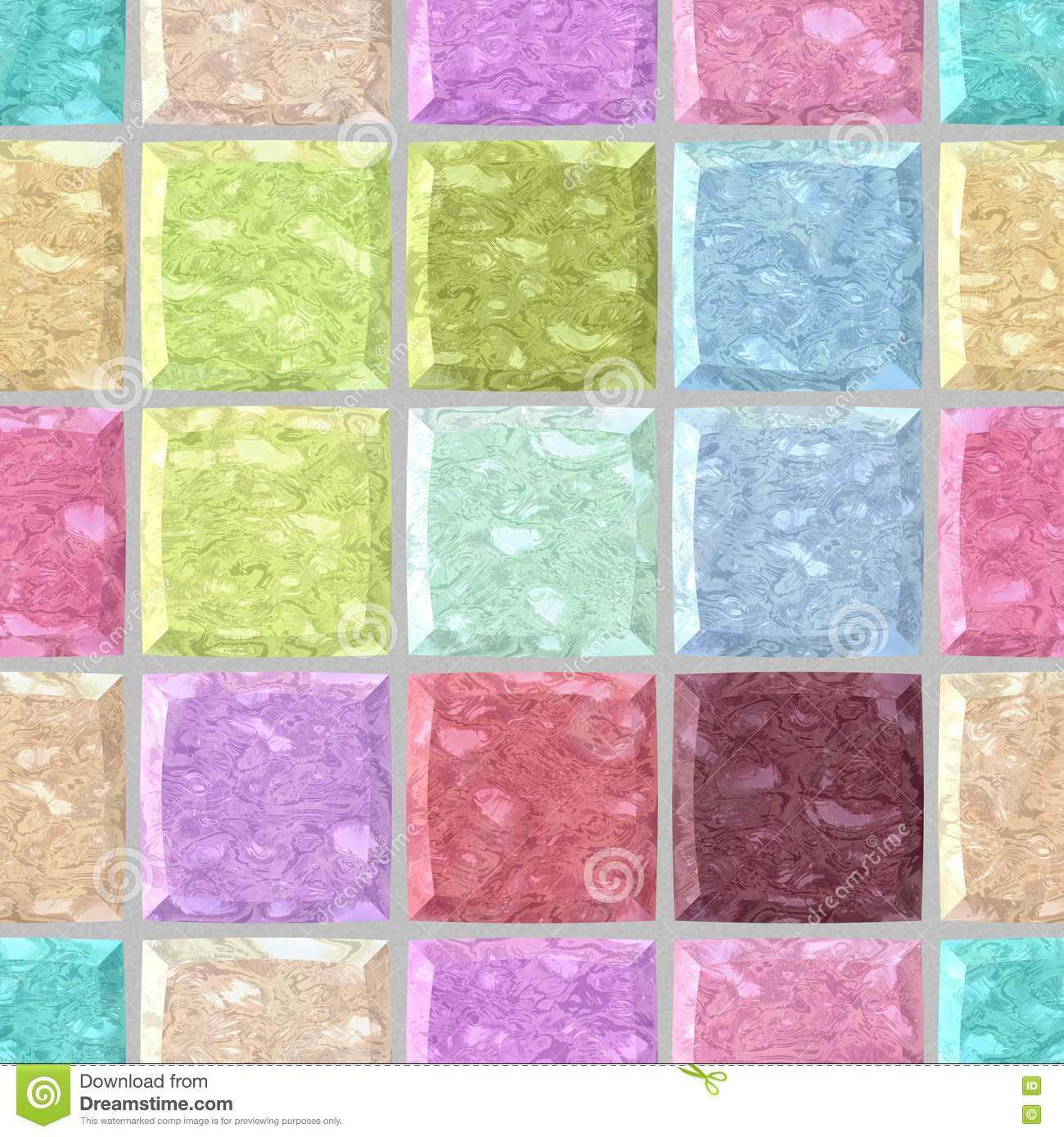 Pastel Marble Texture : Surface floor marble mosaic seamless background with gray