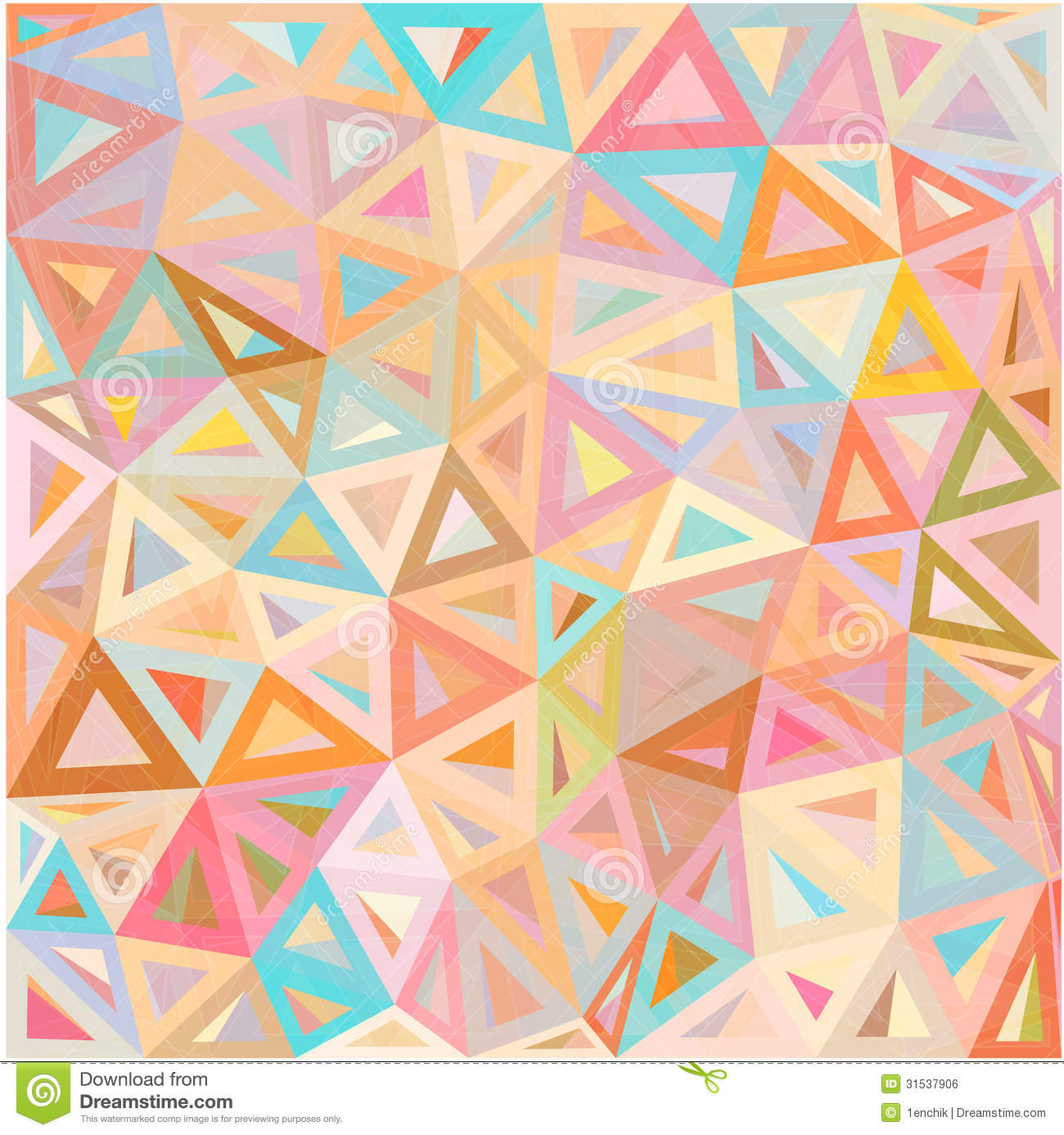 Colorful abstract design background vector art free vector - Royalty Free Stock Photo Download Pastel Colors Abstract Triangles Vector Background