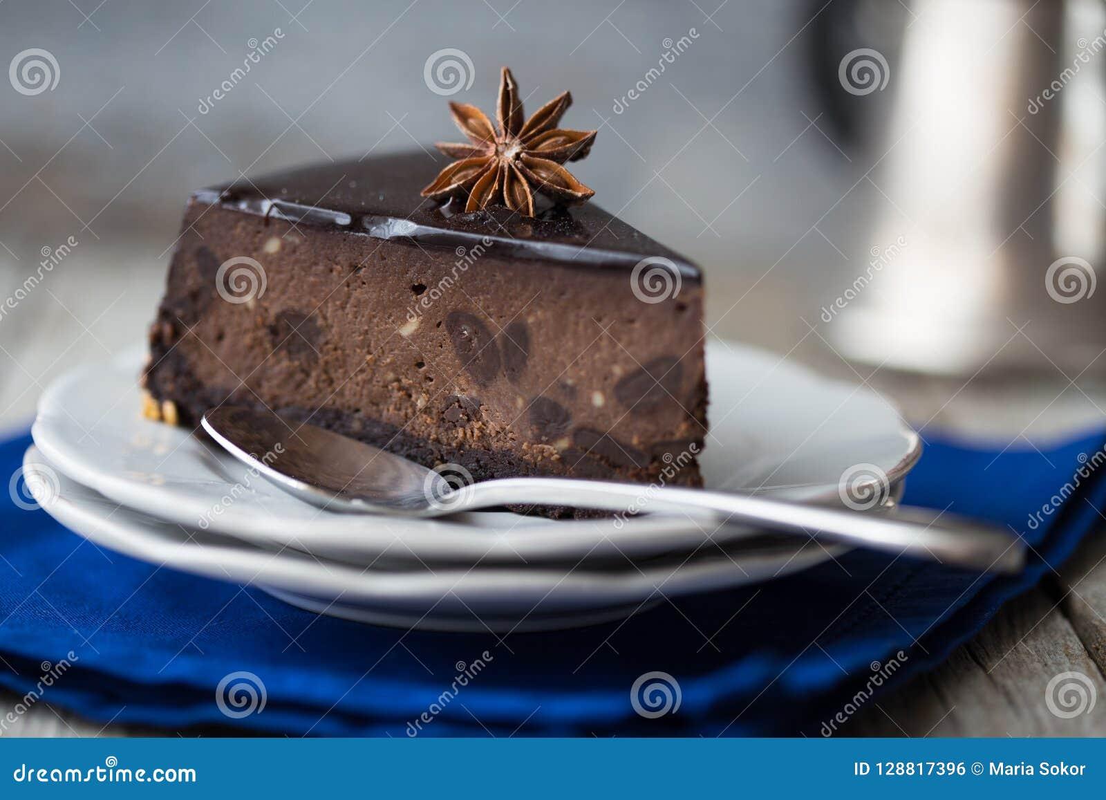 Pastel de queso de la Navidad con mascarpone Receta tradicional de la torta del invierno del pastel de queso festivo de la Navida