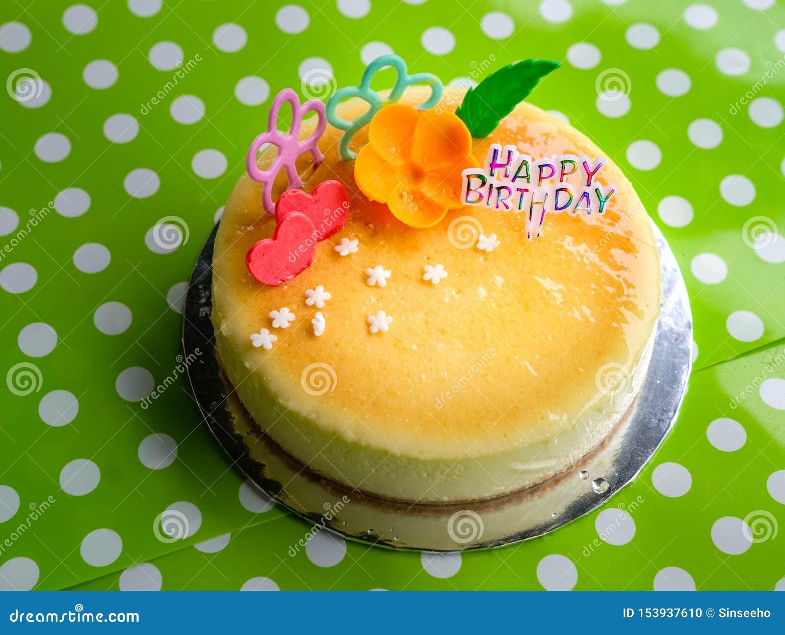 Pastel de queso para el cumpleaños