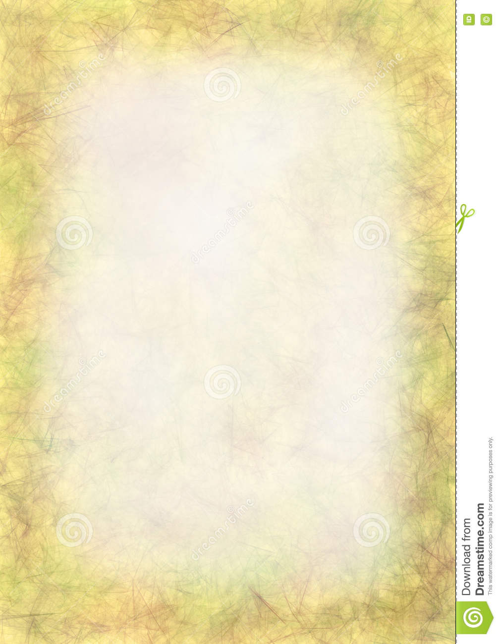 Pastel Drawn Textured Background Crumpled Old Paper Blank For