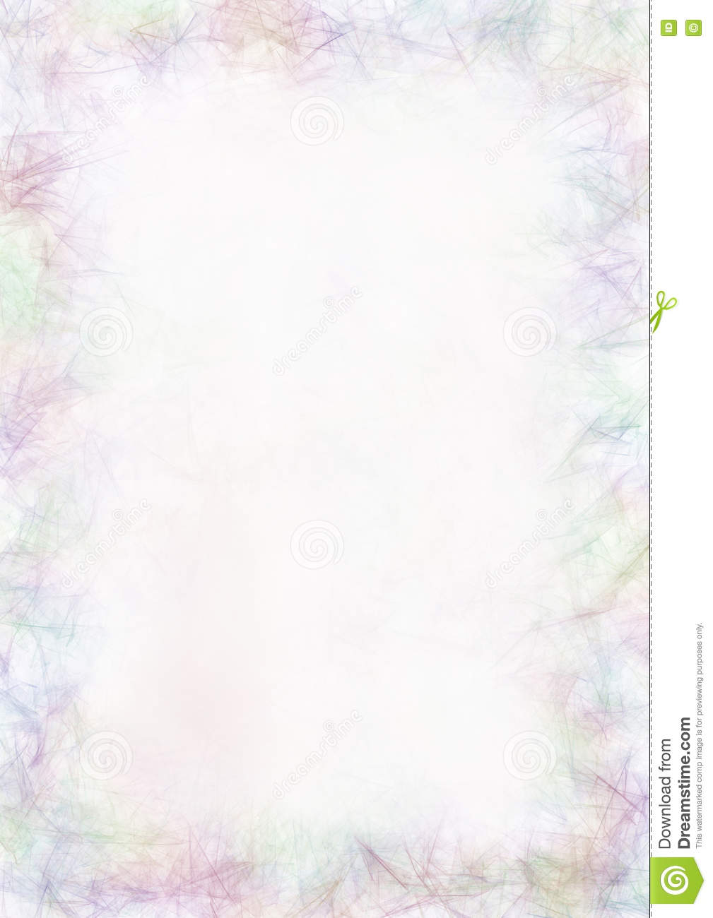 pastel drawn textured background crumpled paper in blue colors blank