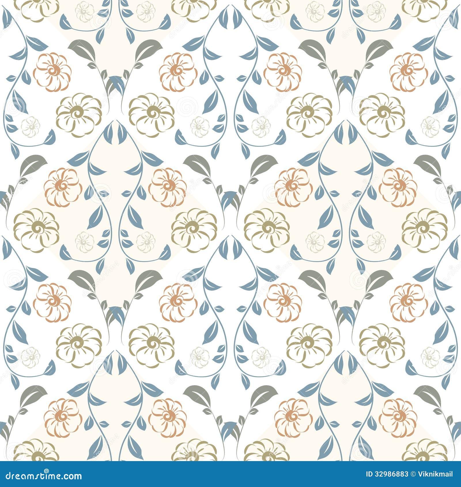 Vintage pastel pattern - photo#32