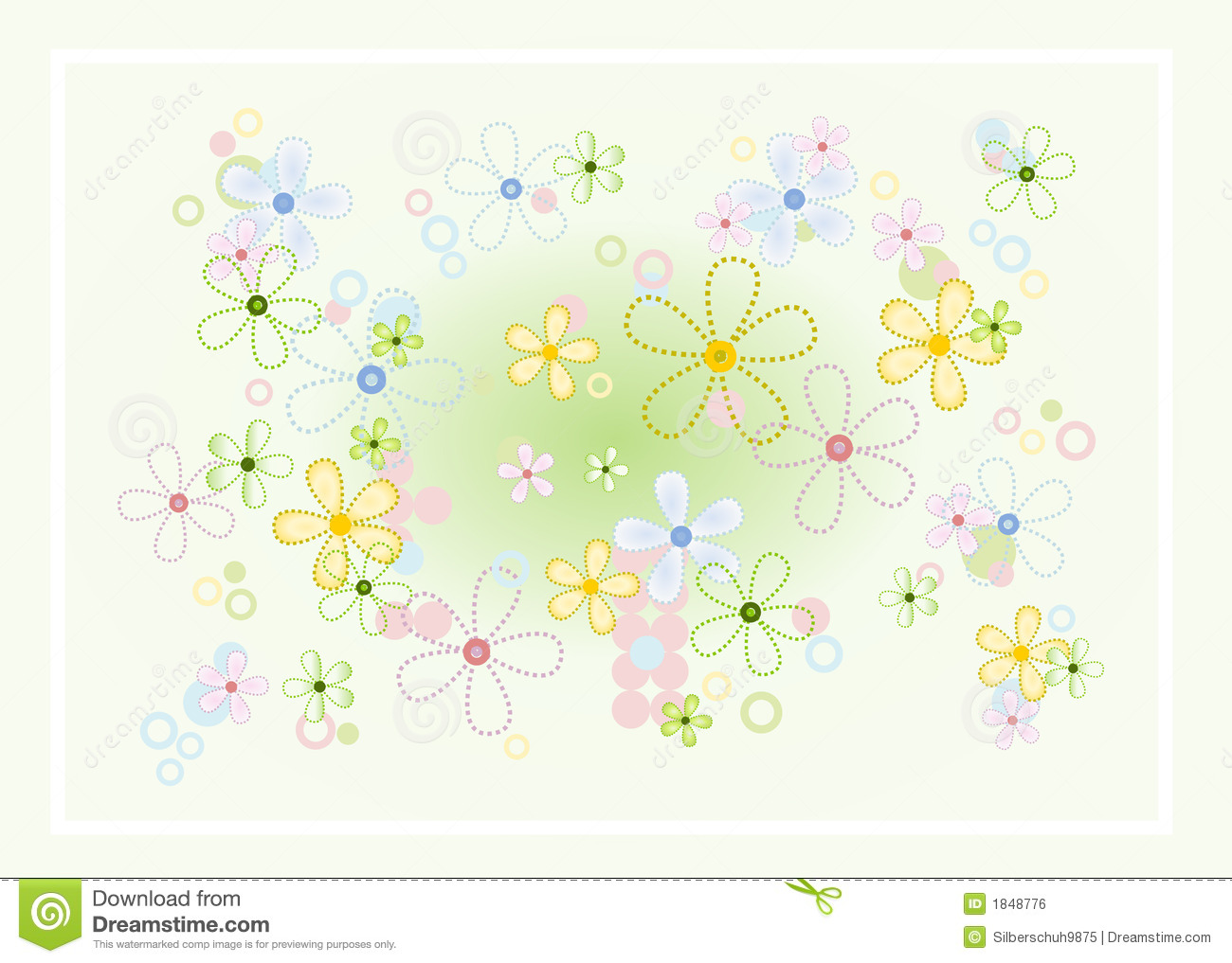 Pastel Flower Background Royalty Free Stock Image Image