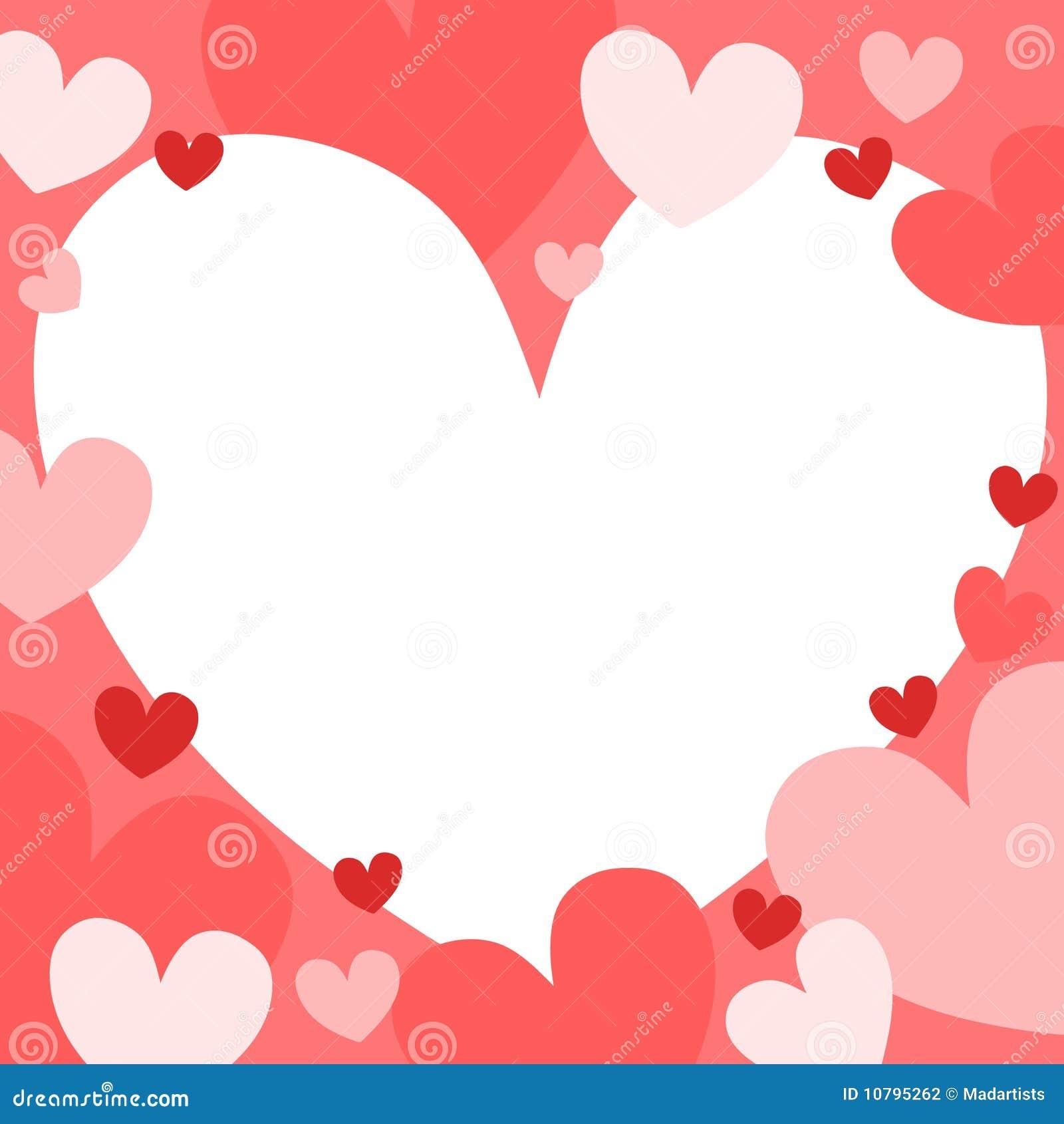 Pastel Hearts Background 2 Stock Photography Image 10795262