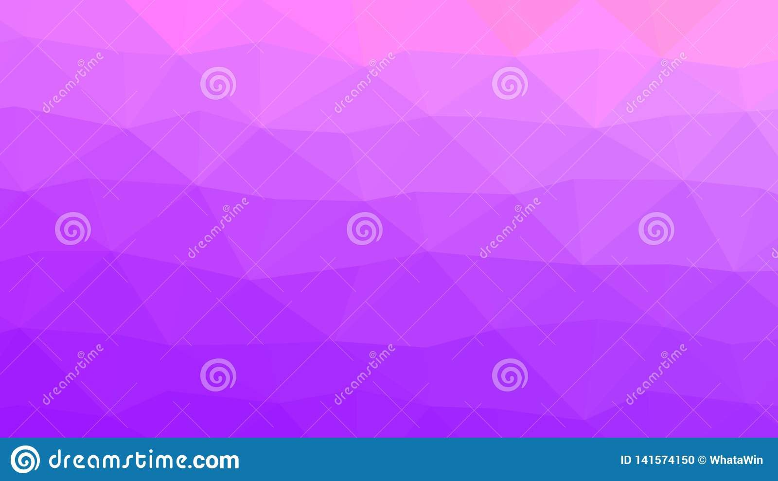 Pastel Purple And Pink Low Poly Backdrop Stock Vector