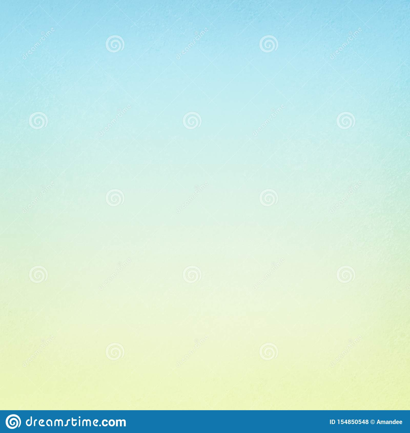 Pastel Sky Blue And Soft Yellow Blurred Background Texture