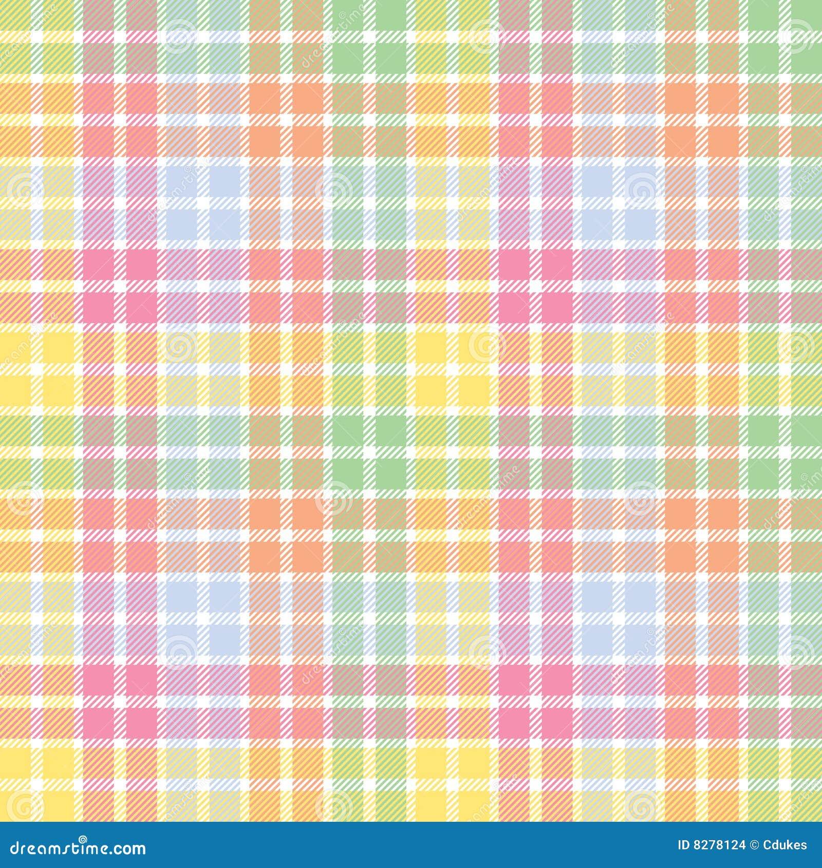 pastel stripe plaid stock images image 8278124. Black Bedroom Furniture Sets. Home Design Ideas