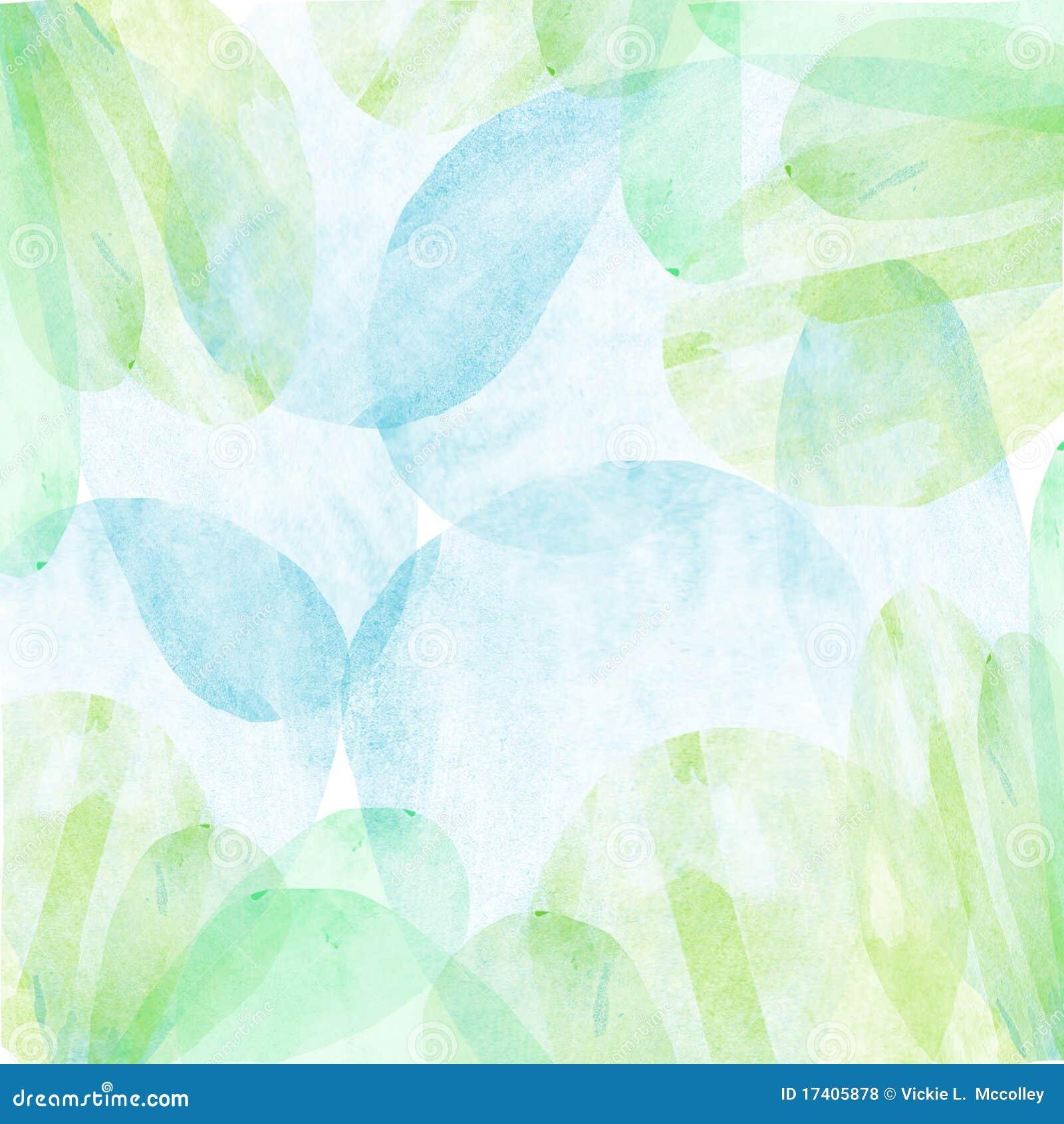 Relaxing Colors Pastel Watercolor Wallpaper Stock Illustration