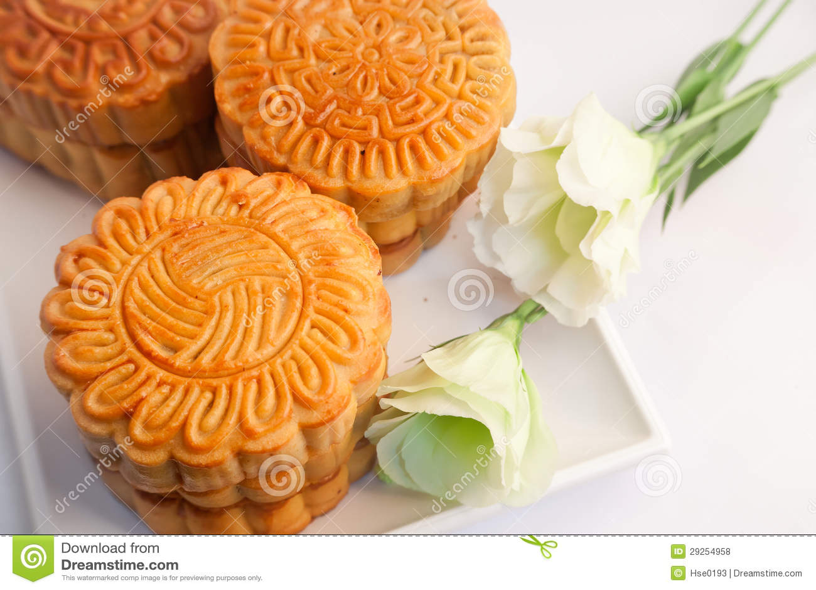 Pastelaria e chá chineses