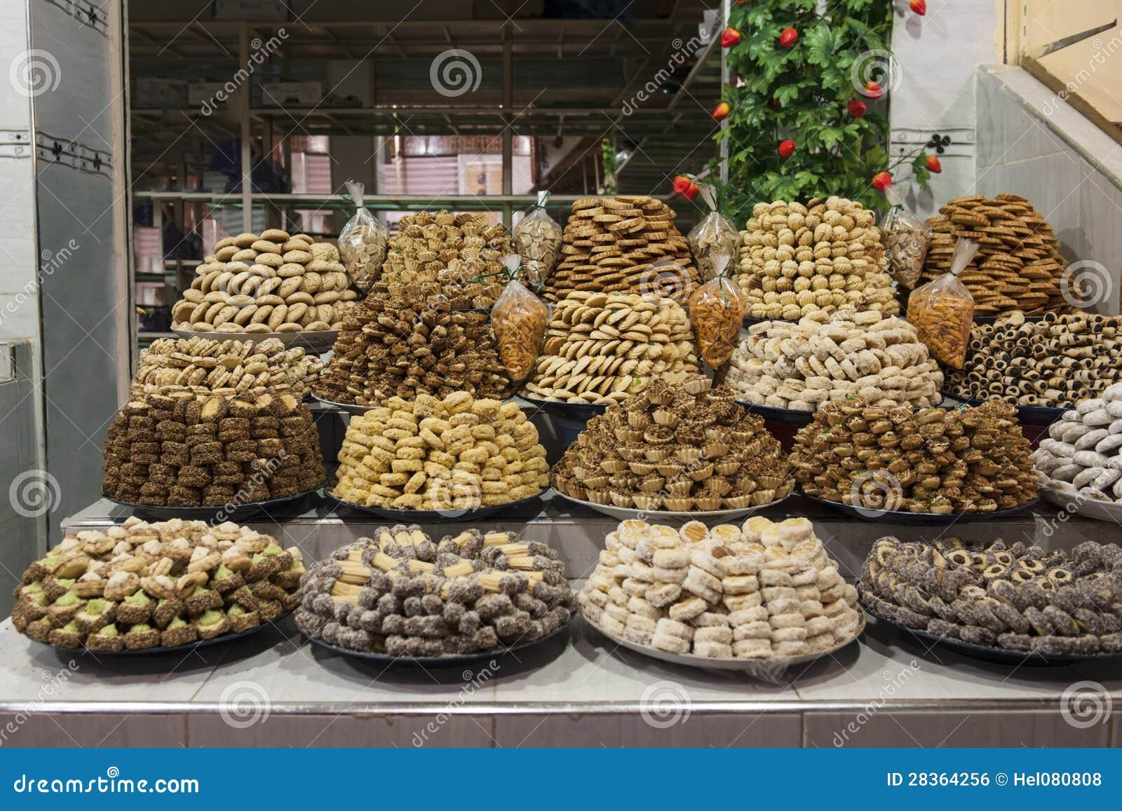 Pasteles de Maroccan