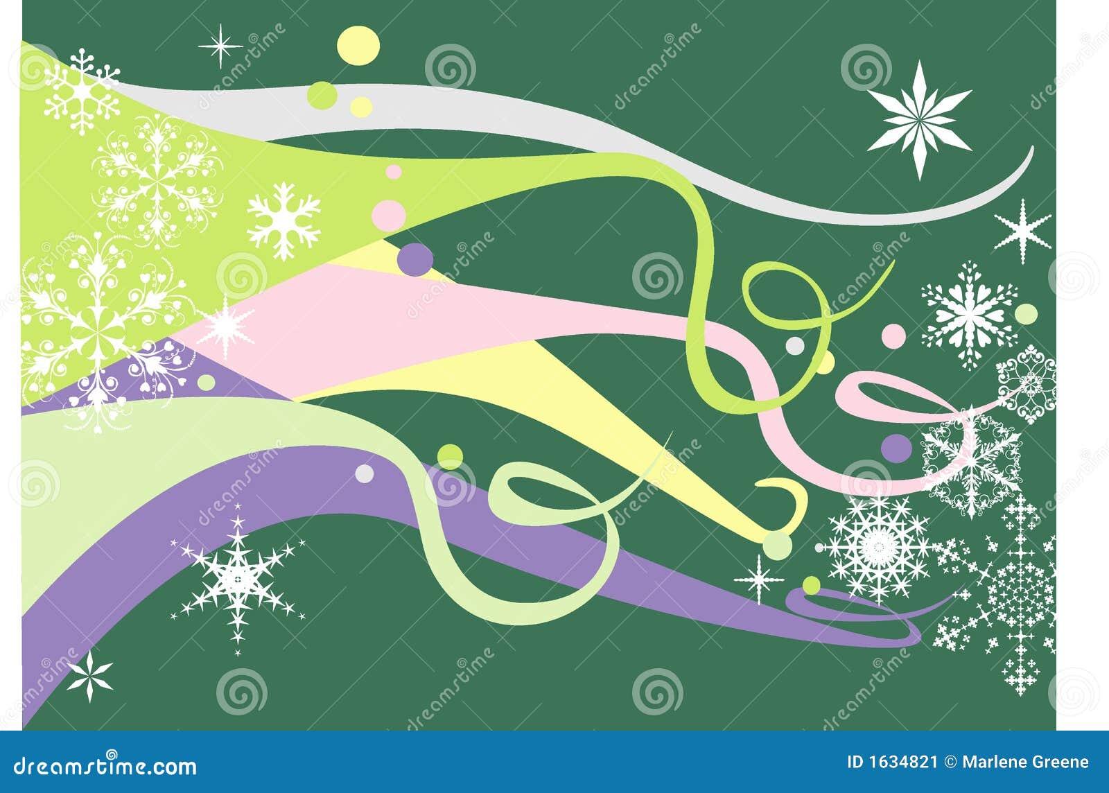 Pastelkleur & Sneeuwvlokken