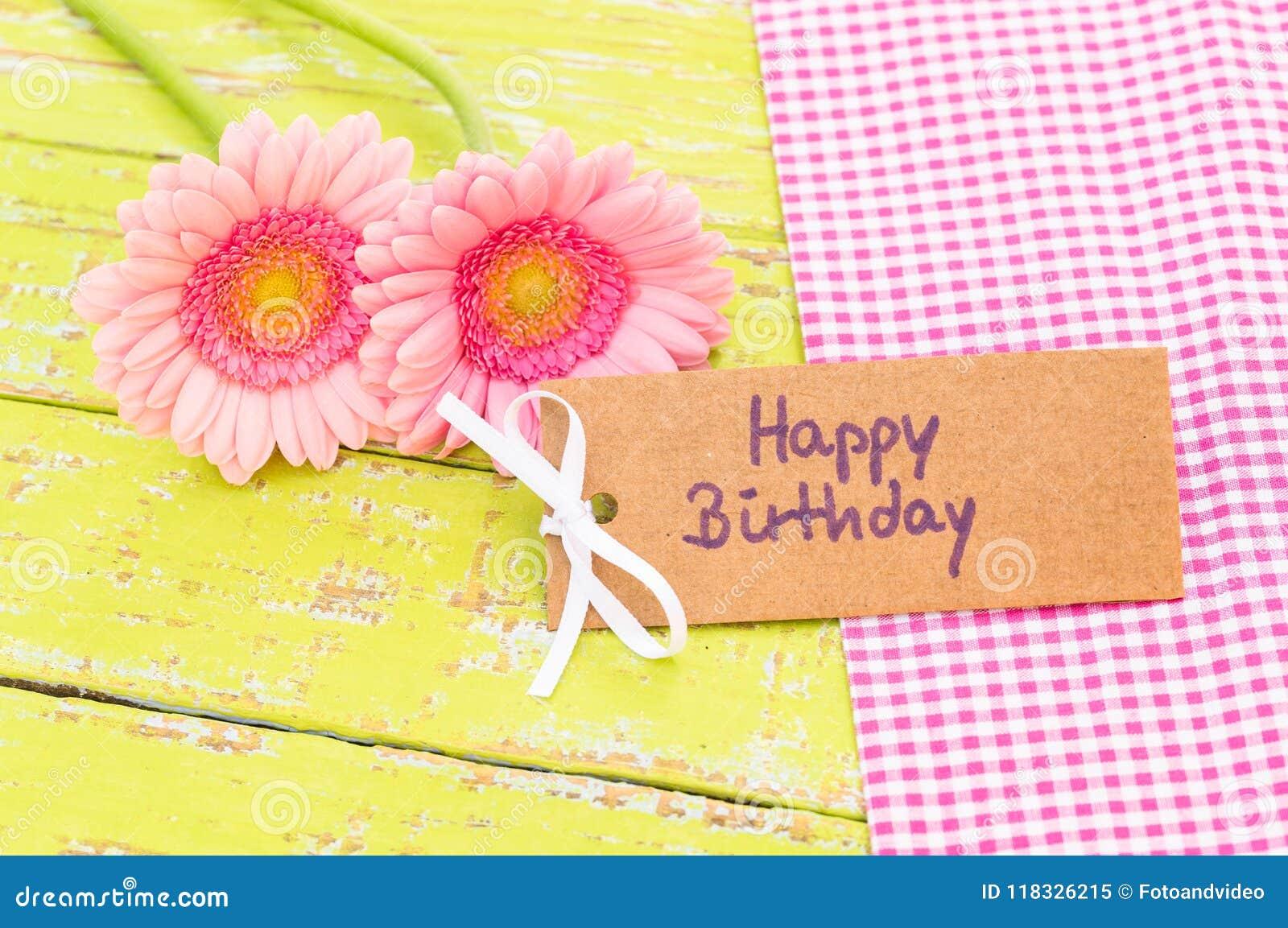 Magnifiek Pastelkleur Roze Bloemen En De Gelukkige Verjaardag Van De #FW13