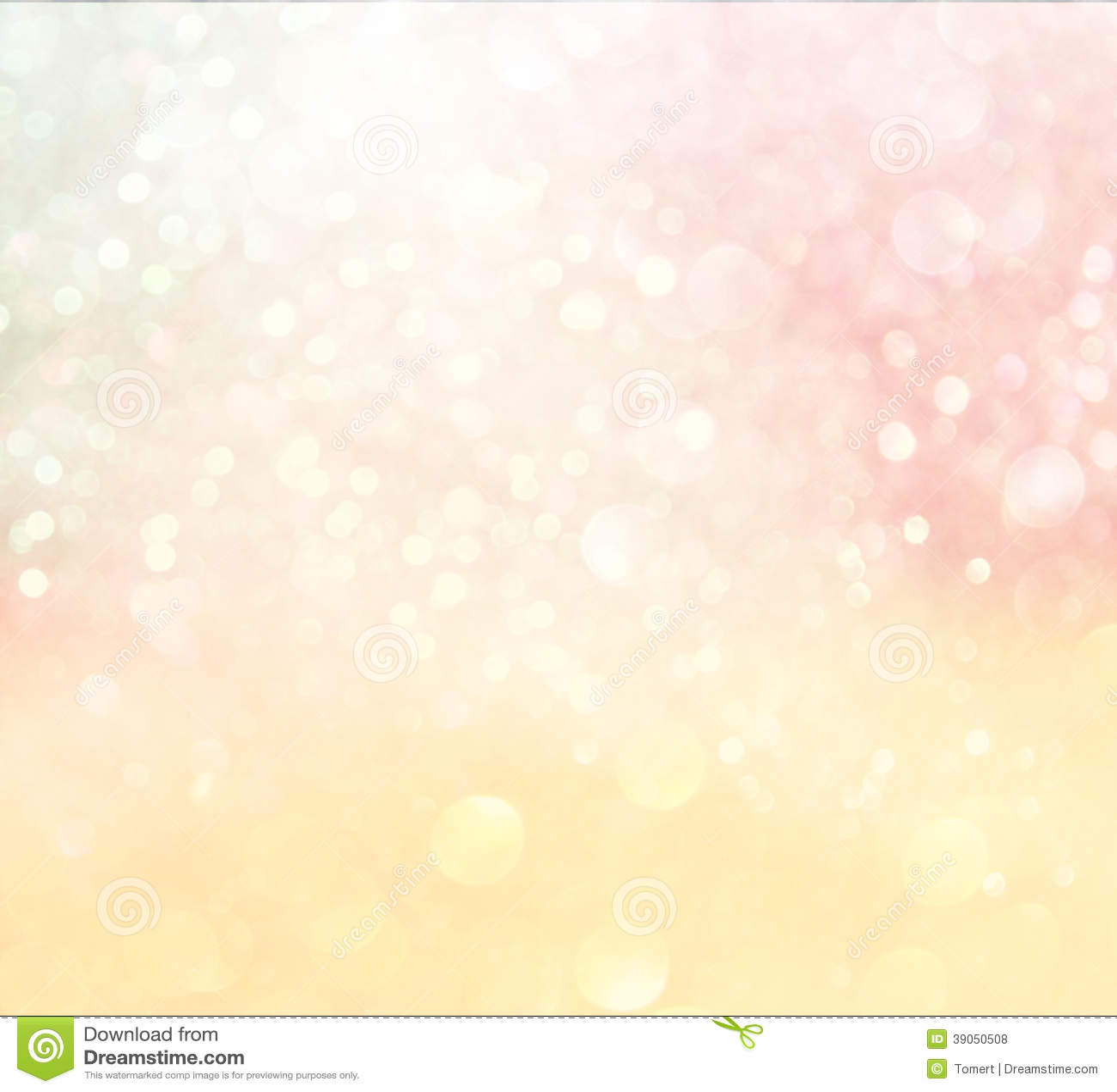 Pastell-bokeh Lichter