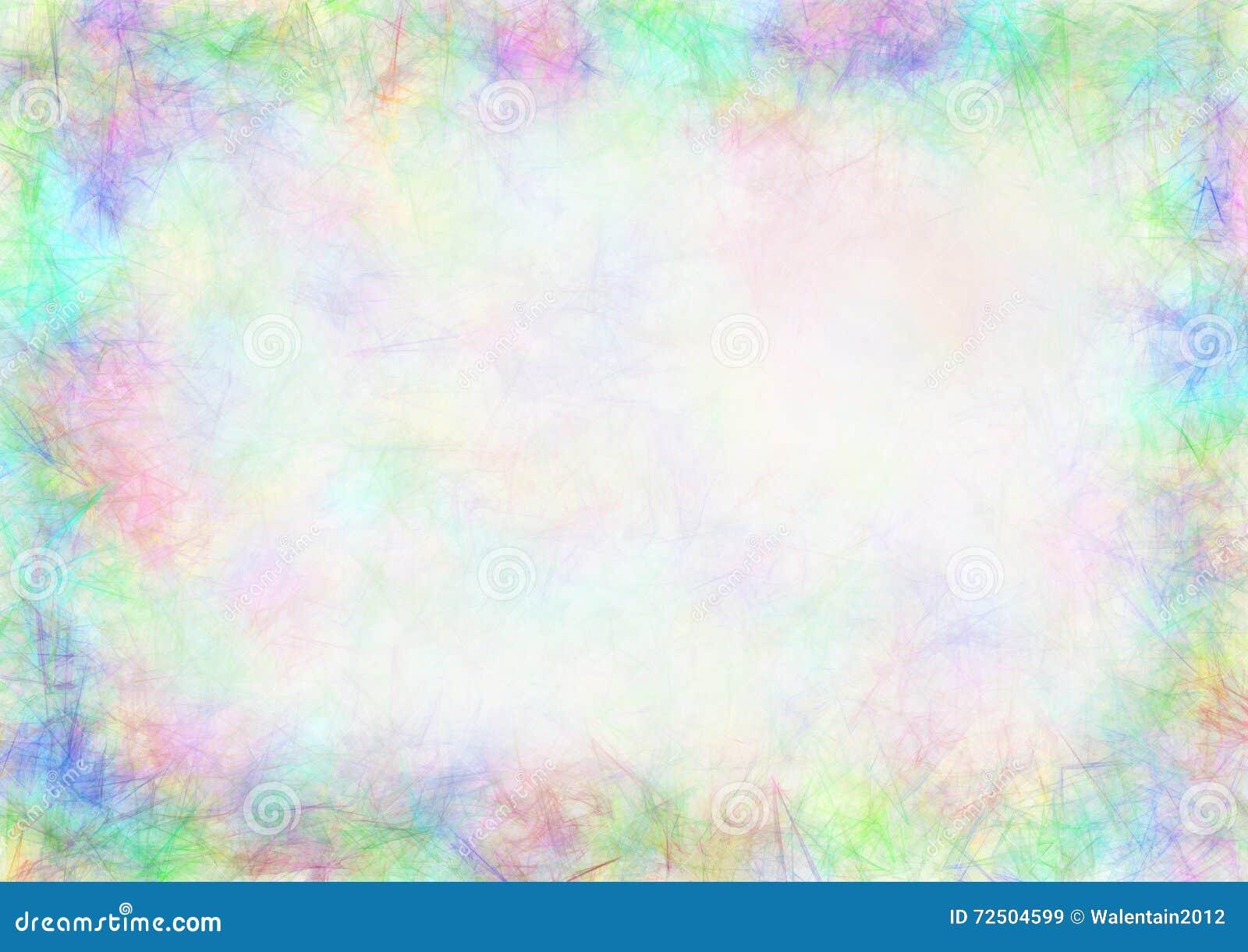Pastell dragen texturerad bakgrund