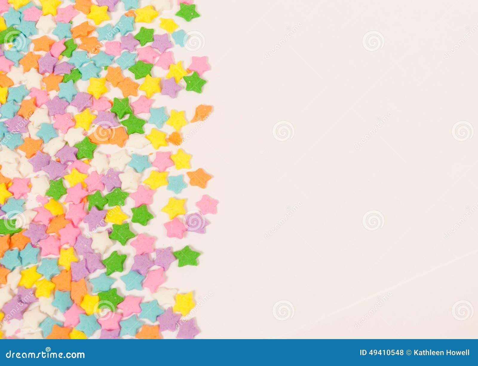 Download Pastell Spielt Grenze Die Hauptrolle Stockfoto - Bild von dekoration, rand: 49410548