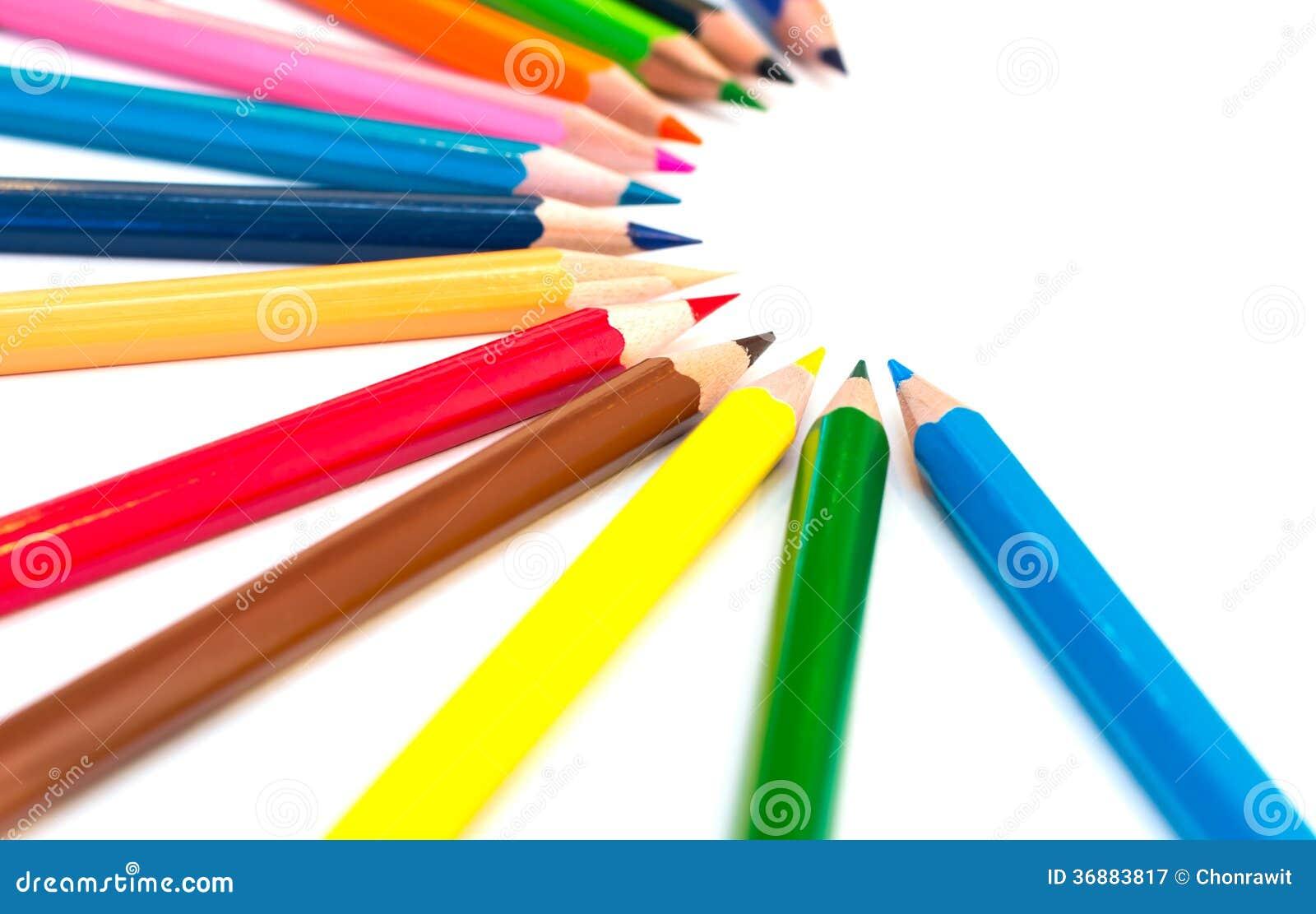 Download Pastelli variopinti immagine stock. Immagine di tiraggio - 36883817