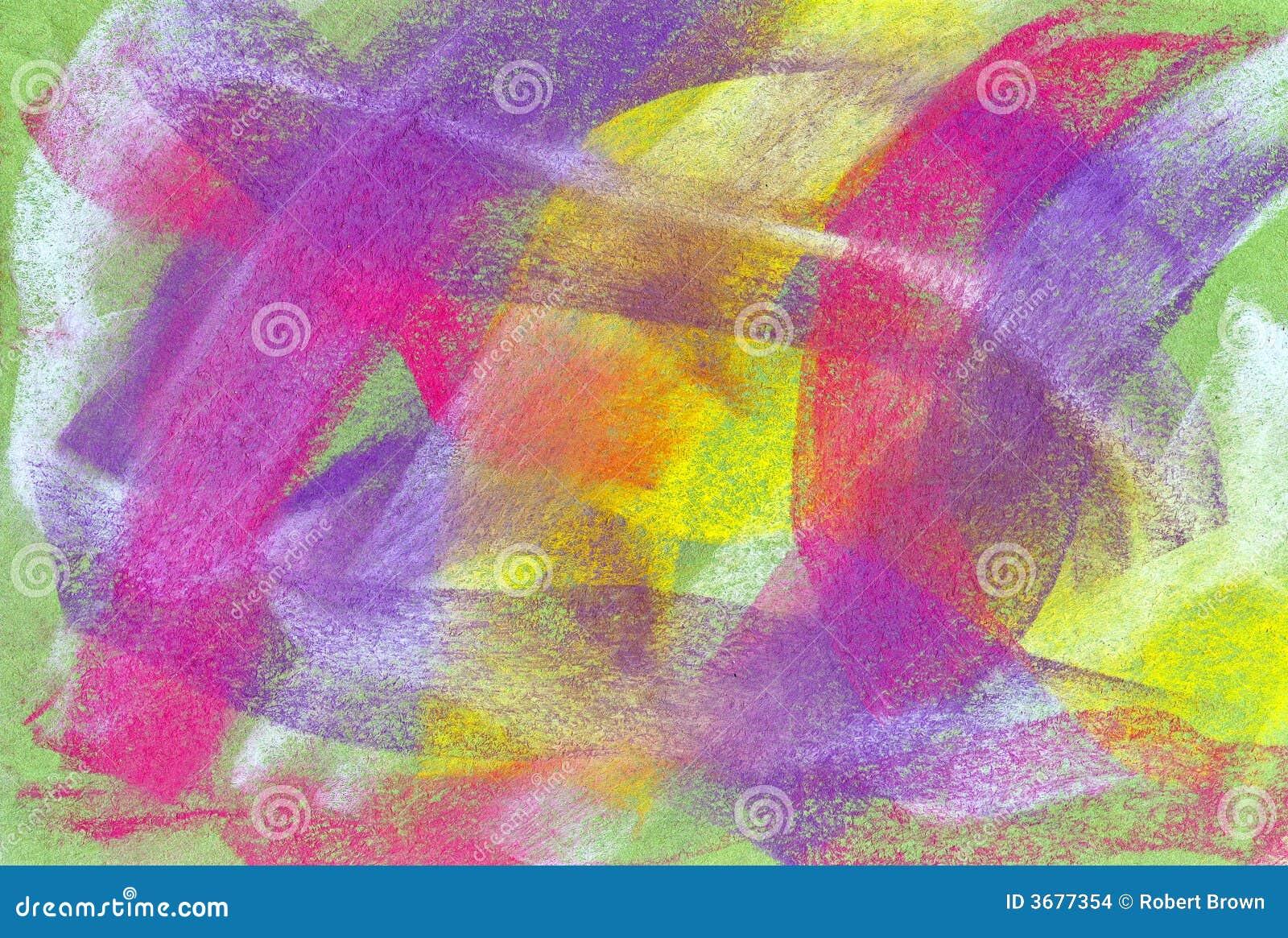 Download Pastello: Priorità Bassa Astratta Brillantemente Colorata Fotografia Stock - Immagine di strutture, neon: 3677354