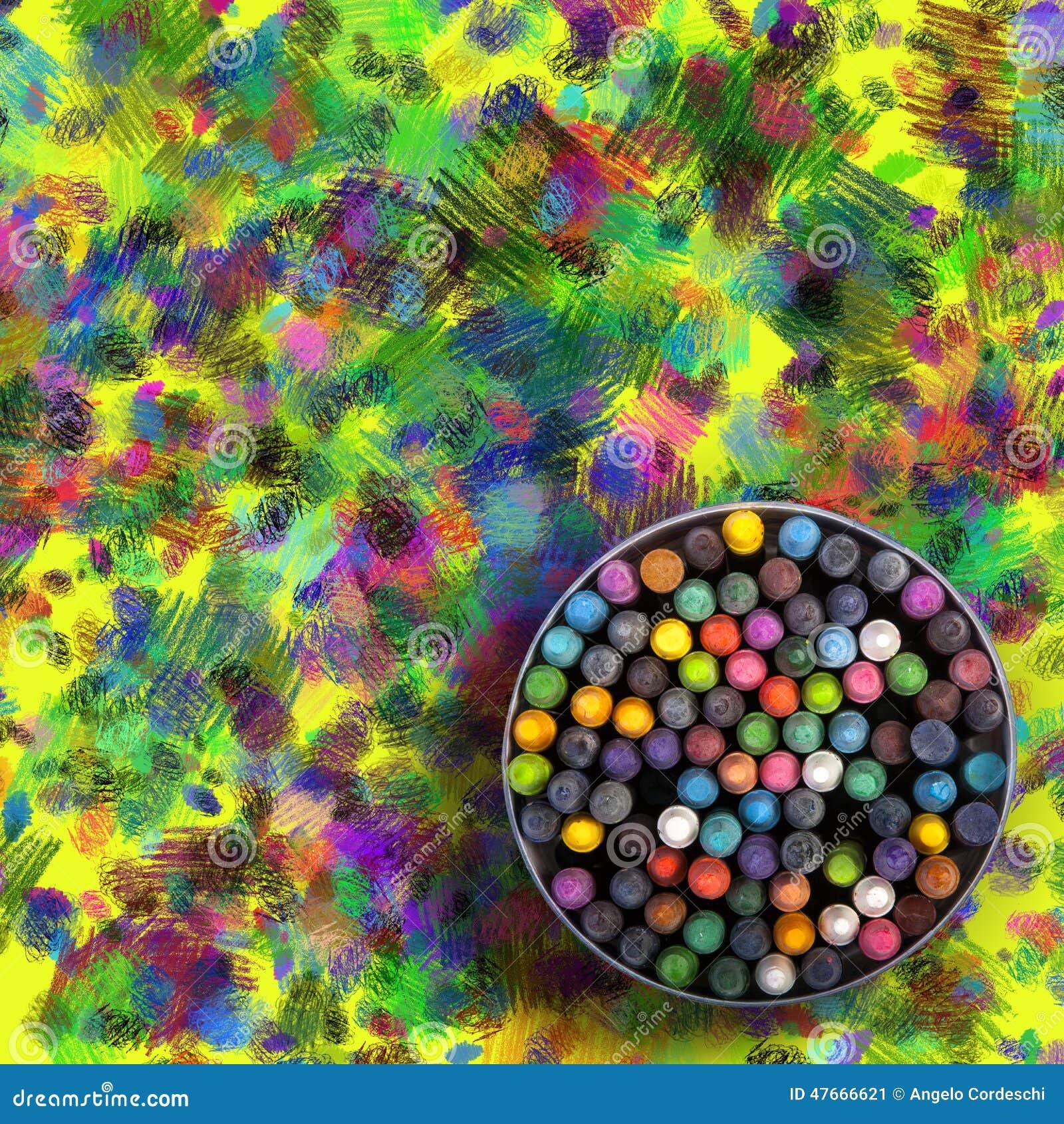interior colorful wallpaper right - photo #32