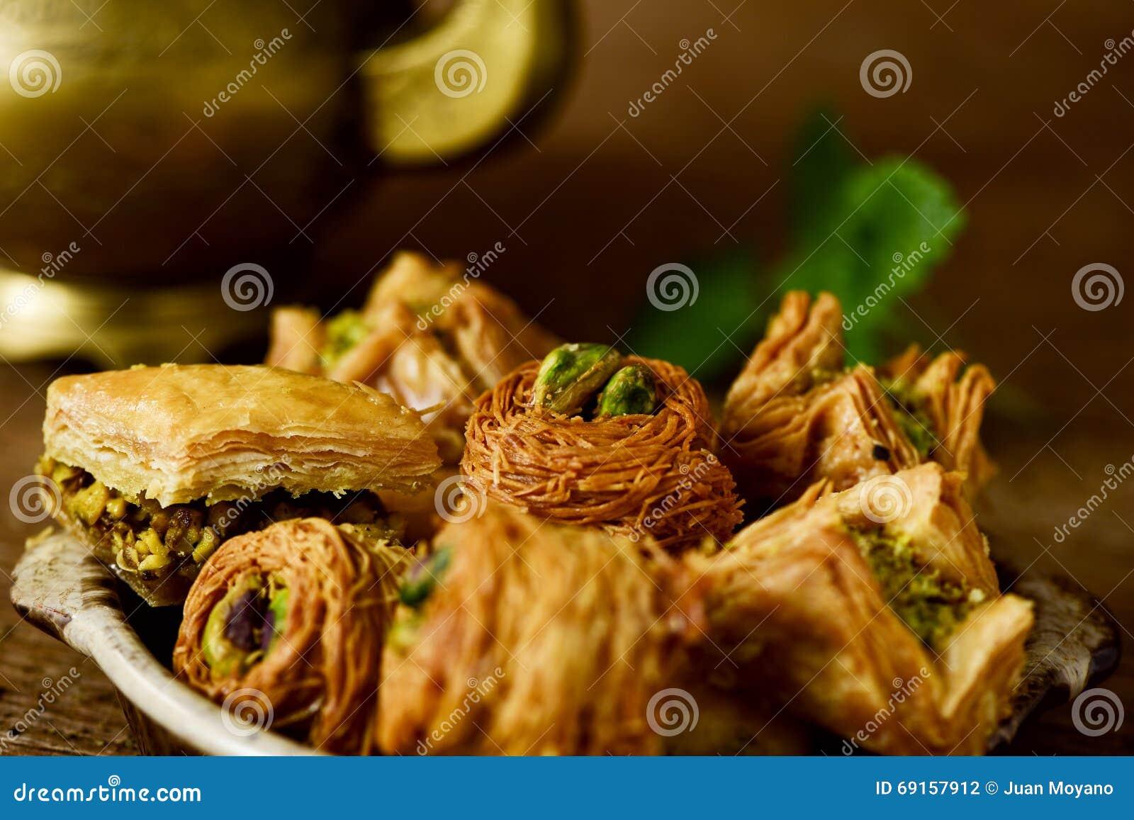 Pasticcerie assortite della baklava