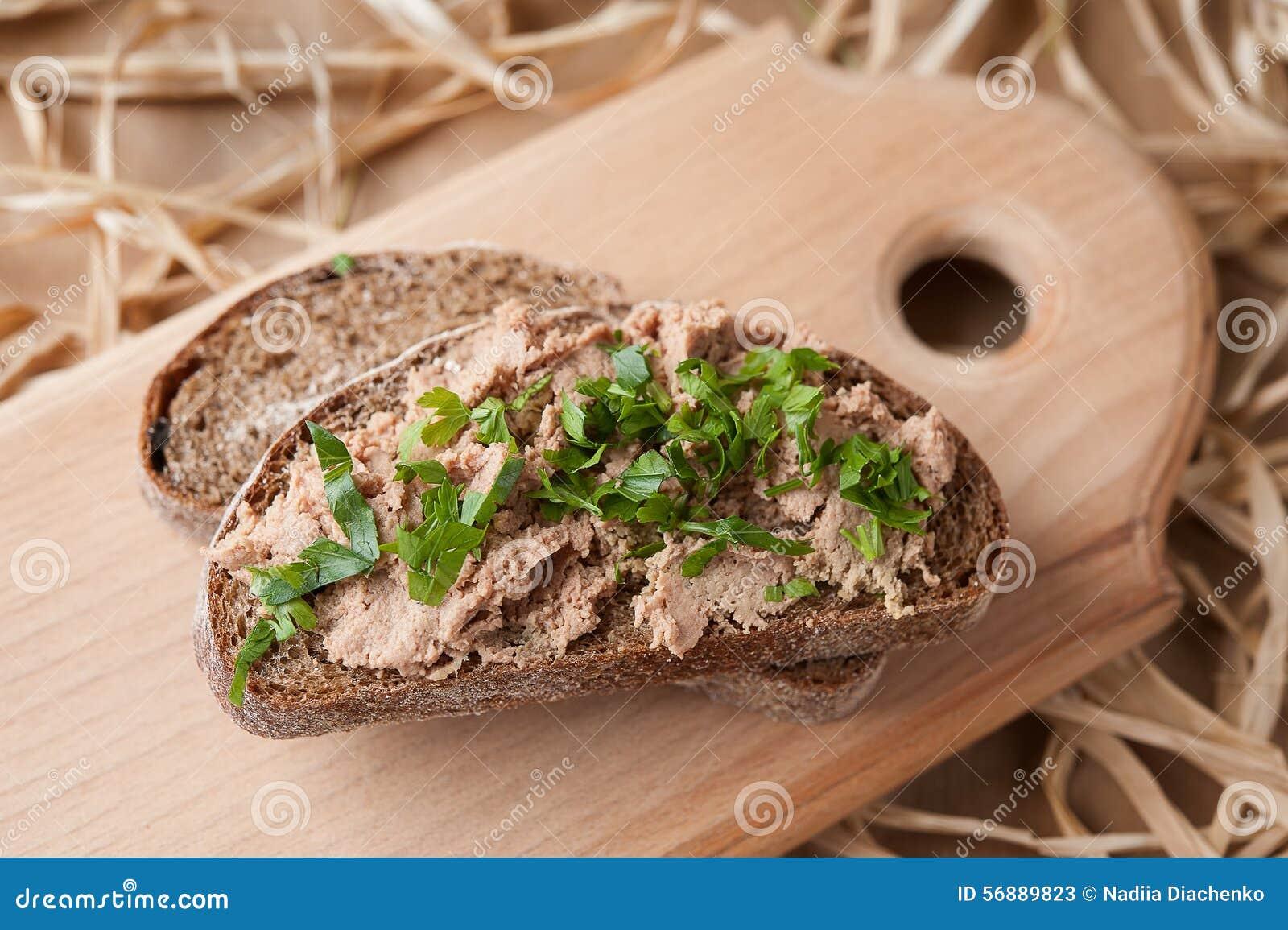 Pasticcio di fegato del pollo
