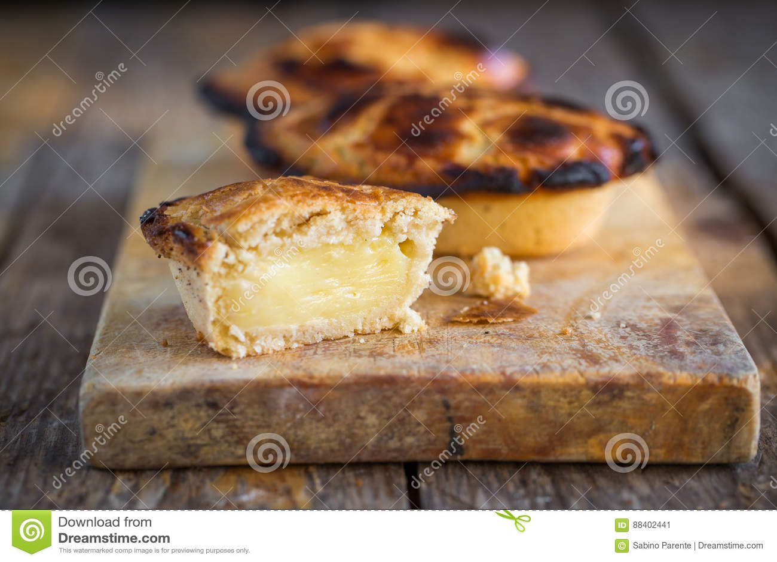 Pasticciotto leccese bakelse
