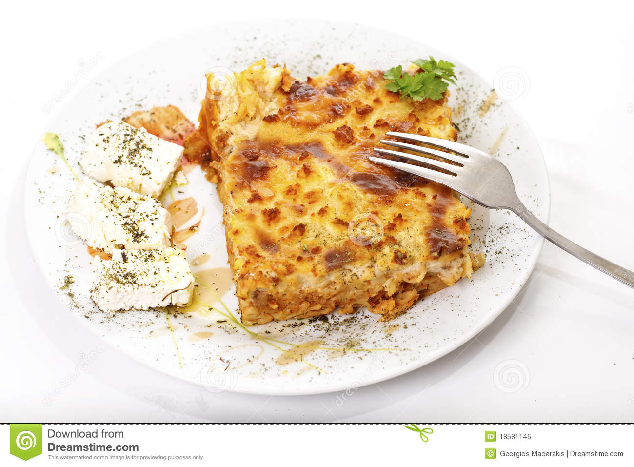 Pastitsio, nourriture traditionnelle grecque