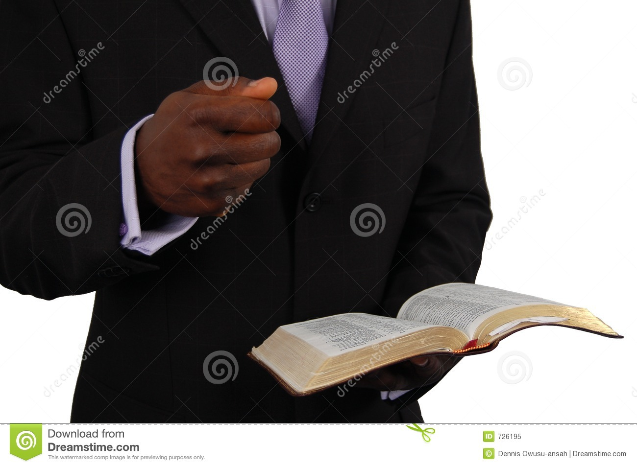 Pastor Preaching Royalty Free Stock Photo - Image: 726195
