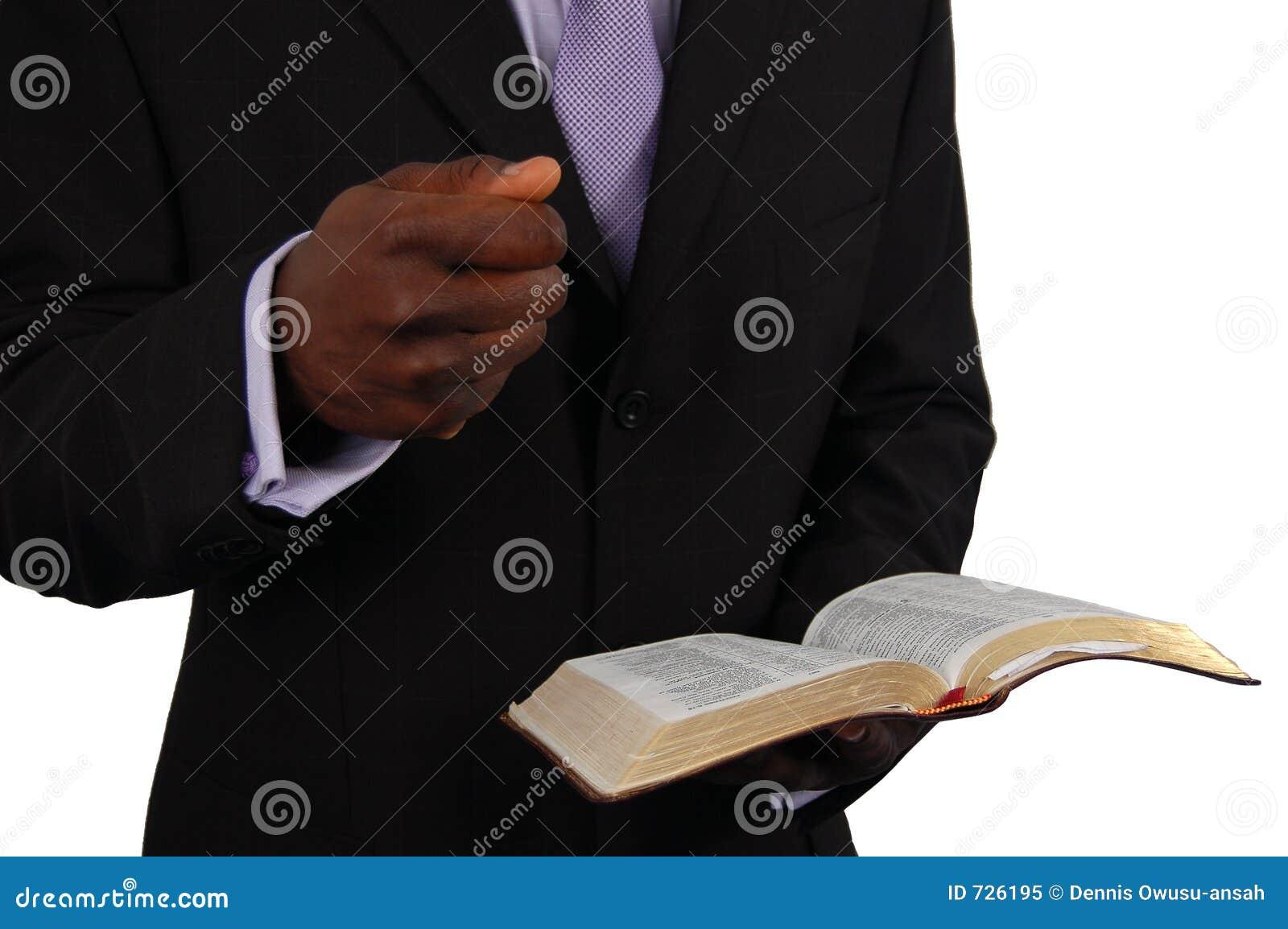 pastor predigen lizenzfreies stockfoto bild 726195. Black Bedroom Furniture Sets. Home Design Ideas