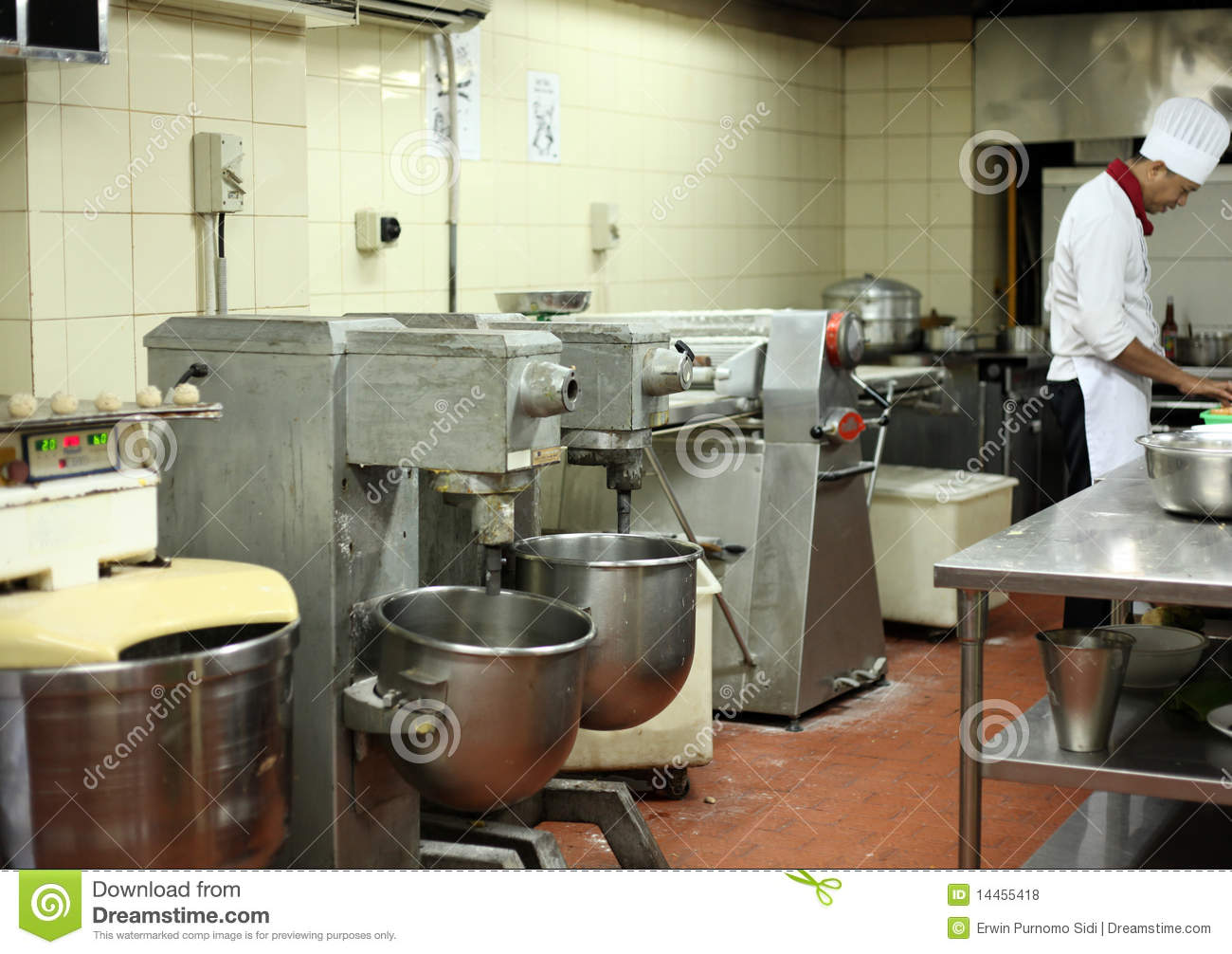 Pastry Kitchen Stock Photo Image Of Cooking Busy Kitchenware