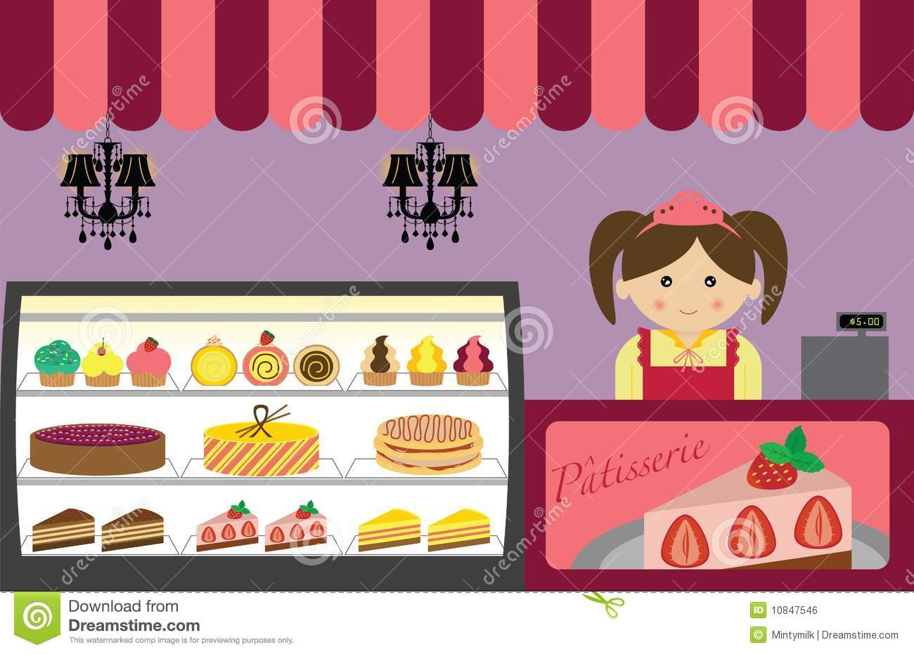 Pastry Shop Royalty Free Stock Image - Image: 10847546