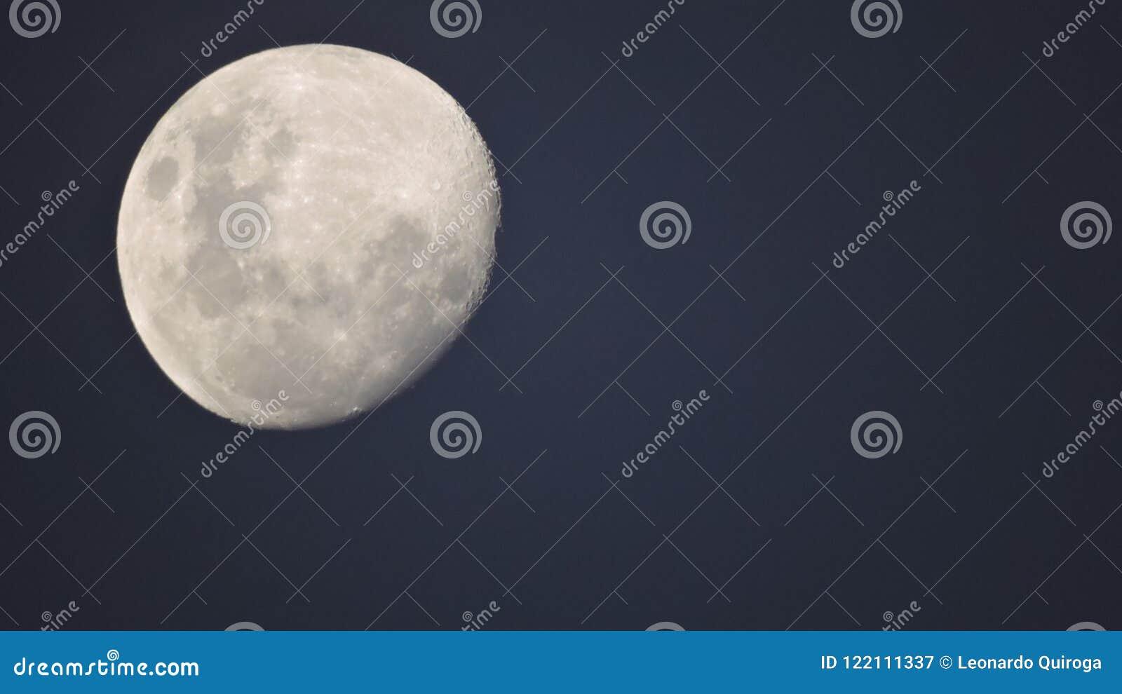 Patagonia księżyc