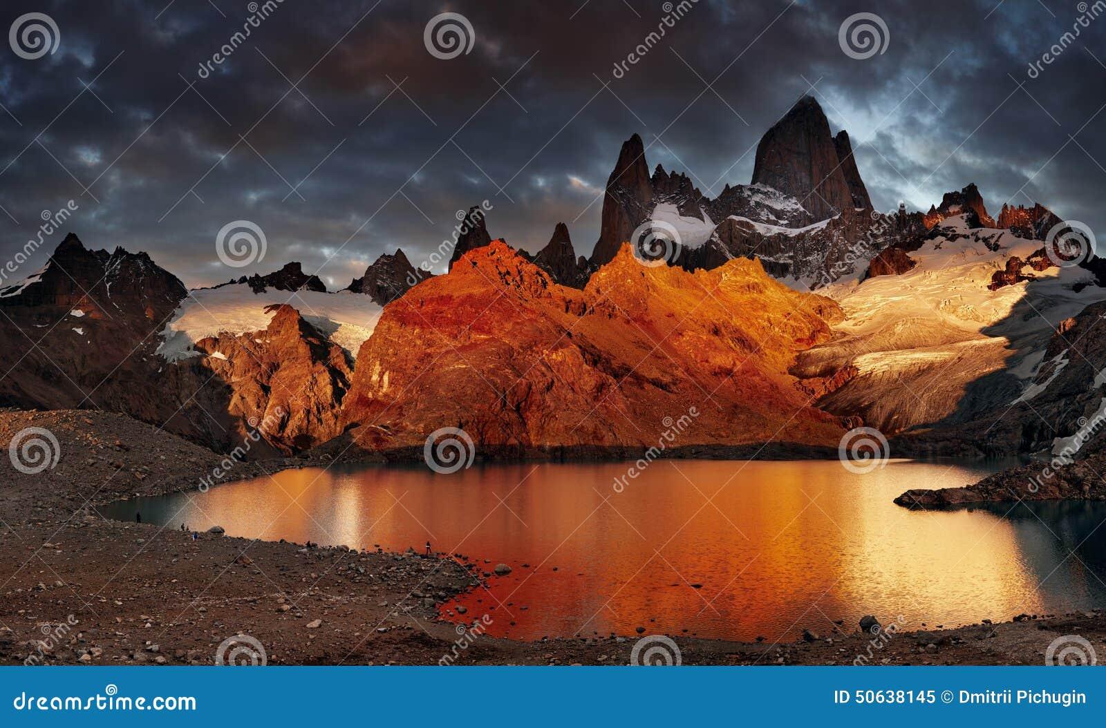 Patagonia roy för argentina fitzmontering
